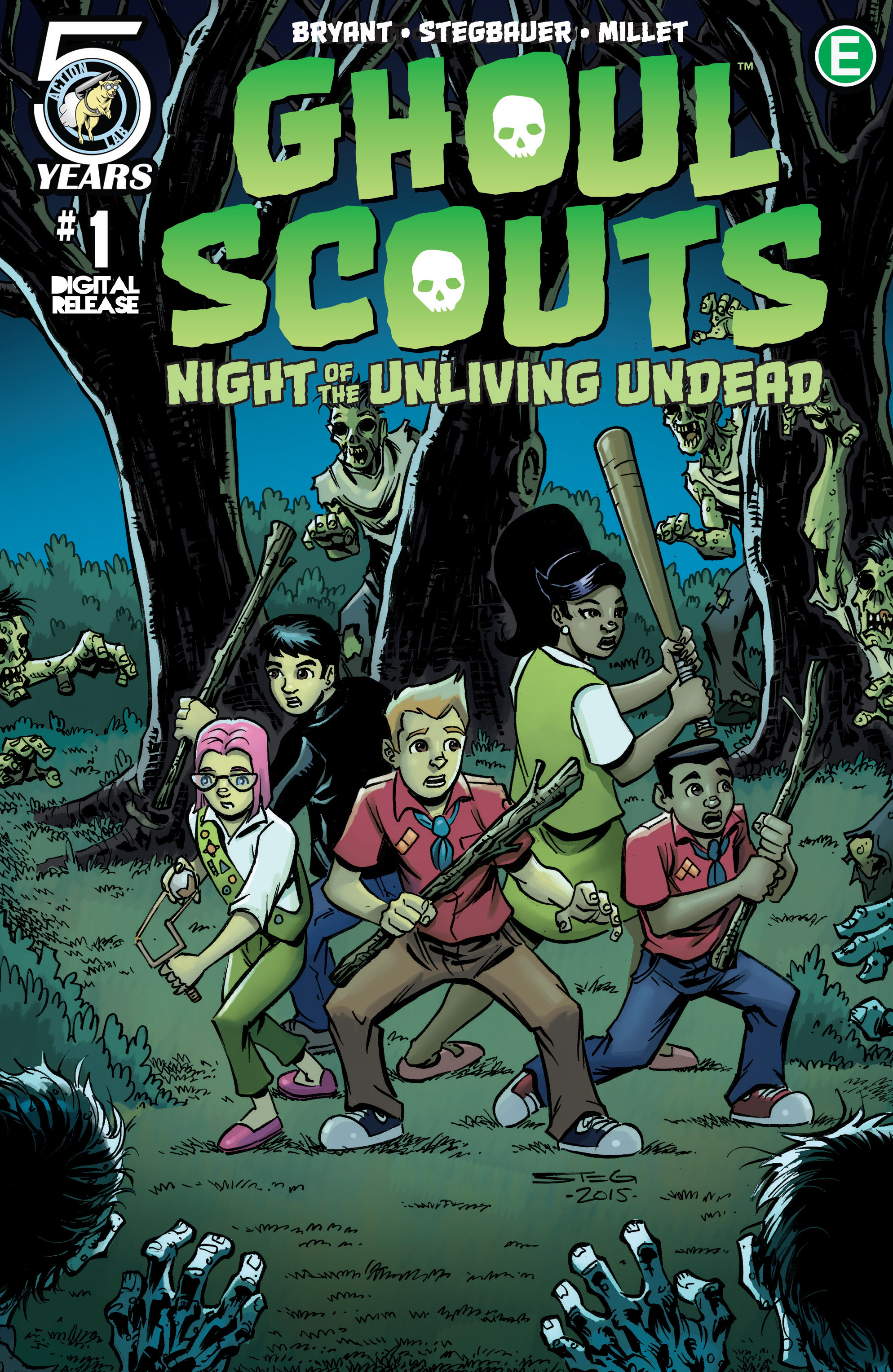 Ghoul Scouts: Night of the Unliving Undead 1 Page 1