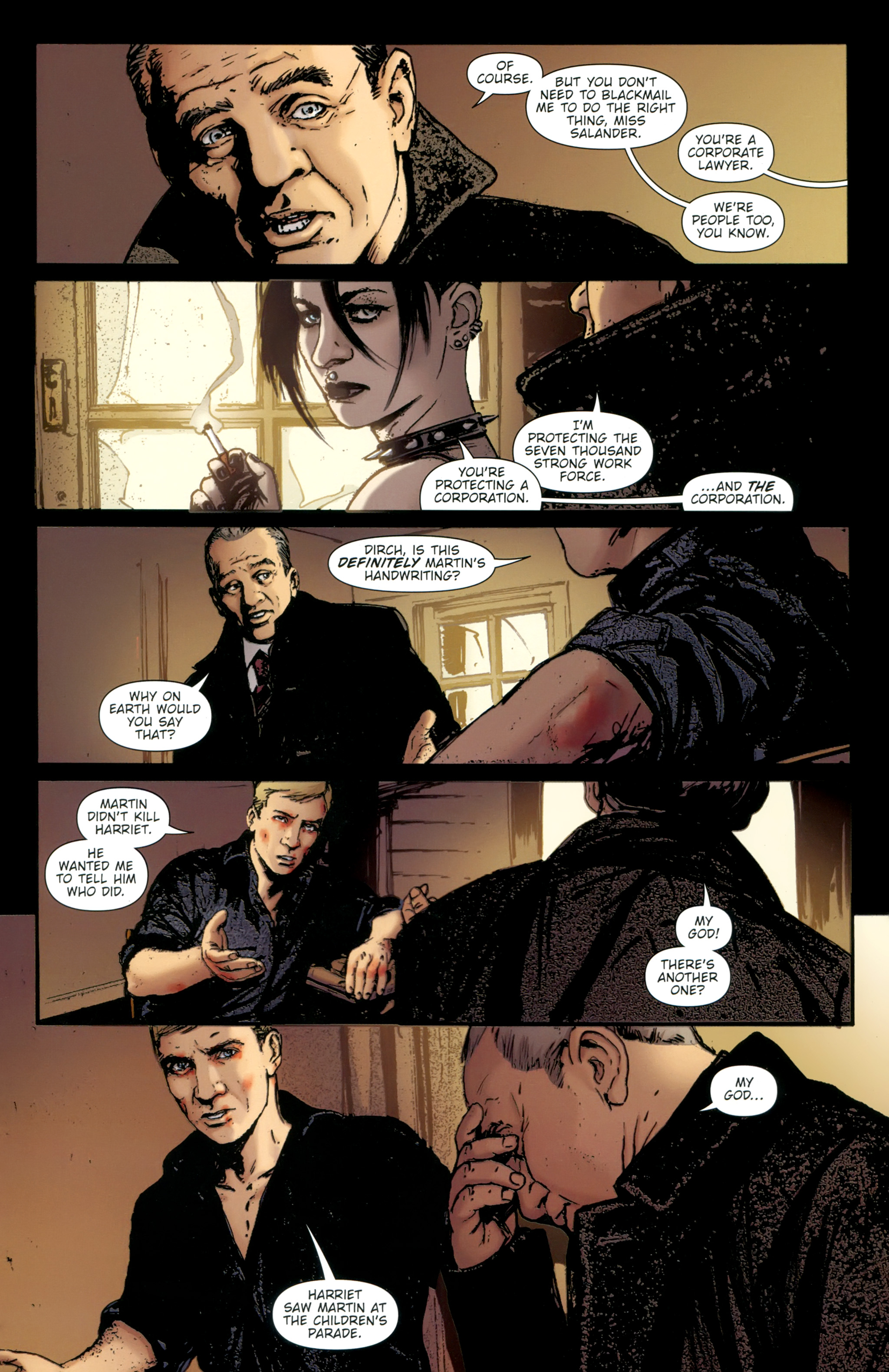 Read online The Girl With the Dragon Tattoo comic -  Issue # TPB 2 - 119