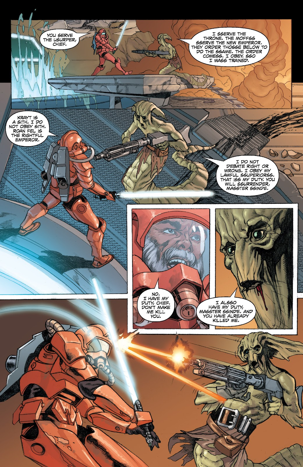 Read online Star Wars Legends: Legacy - Epic Collection comic -  Issue # TPB 2 (Part 4) - 5
