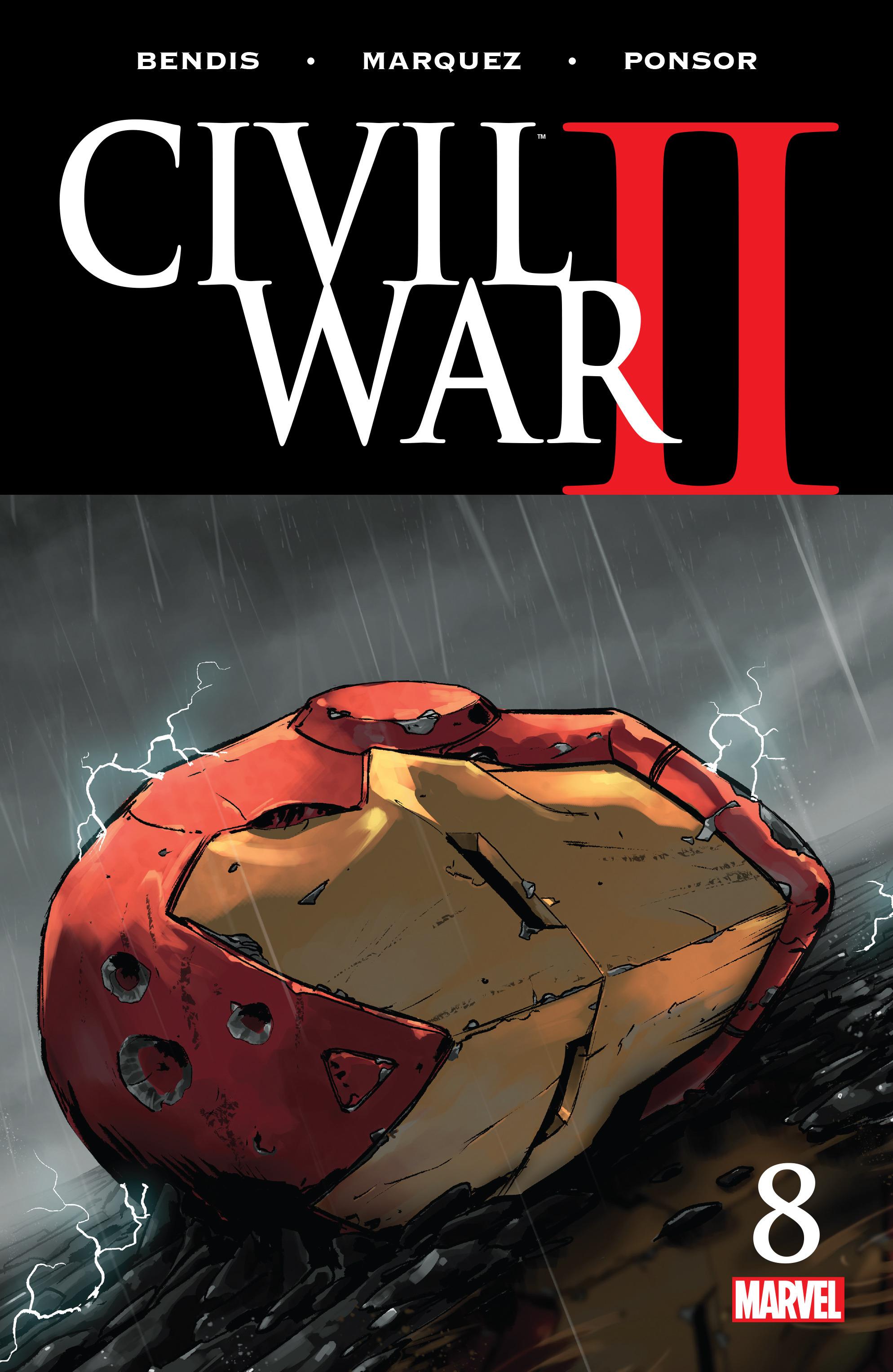 Civil War II 8 Page 1