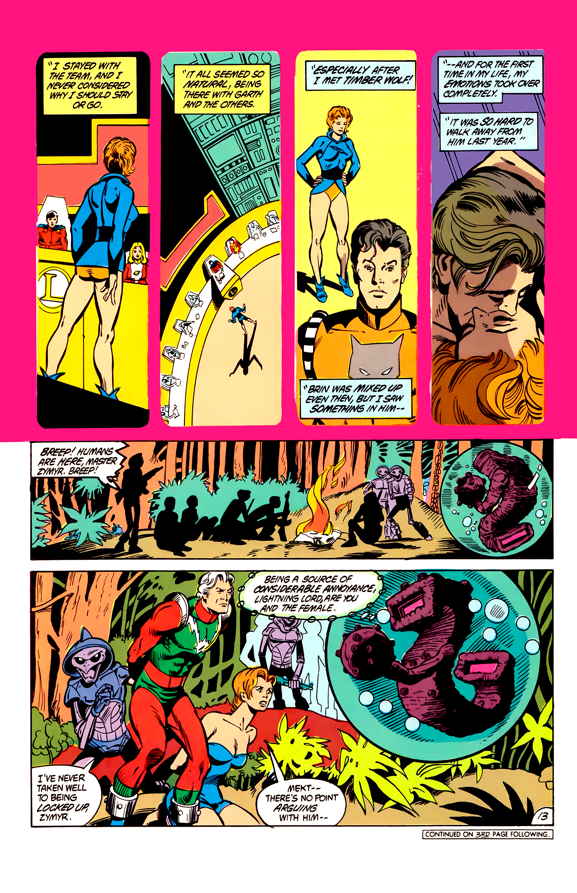 Legion of Super-Heroes (1984) 6 Page 13