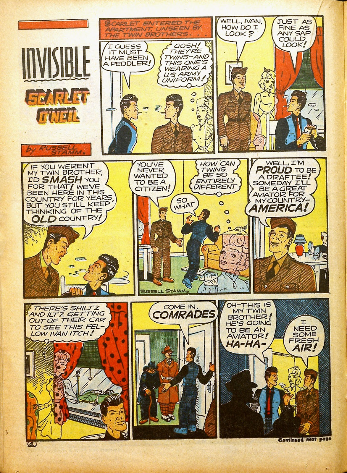 Read online Famous Funnies comic -  Issue #91 - 30