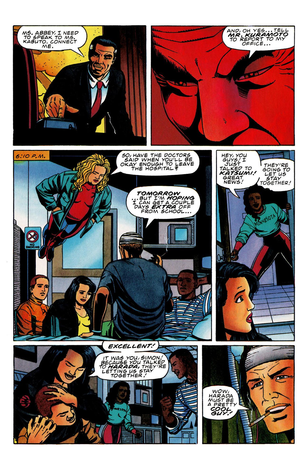Read online Harbinger (1992) comic -  Issue #31 - 17