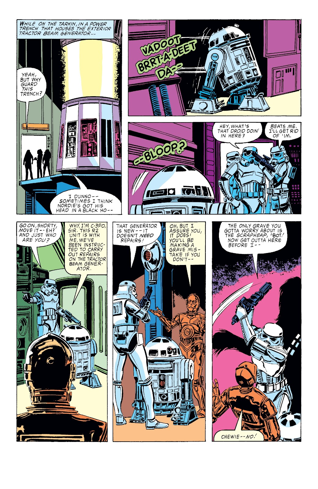 Read online Star Wars Legends: The Original Marvel Years - Epic Collection comic -  Issue # TPB 3 (Part 3) - 96