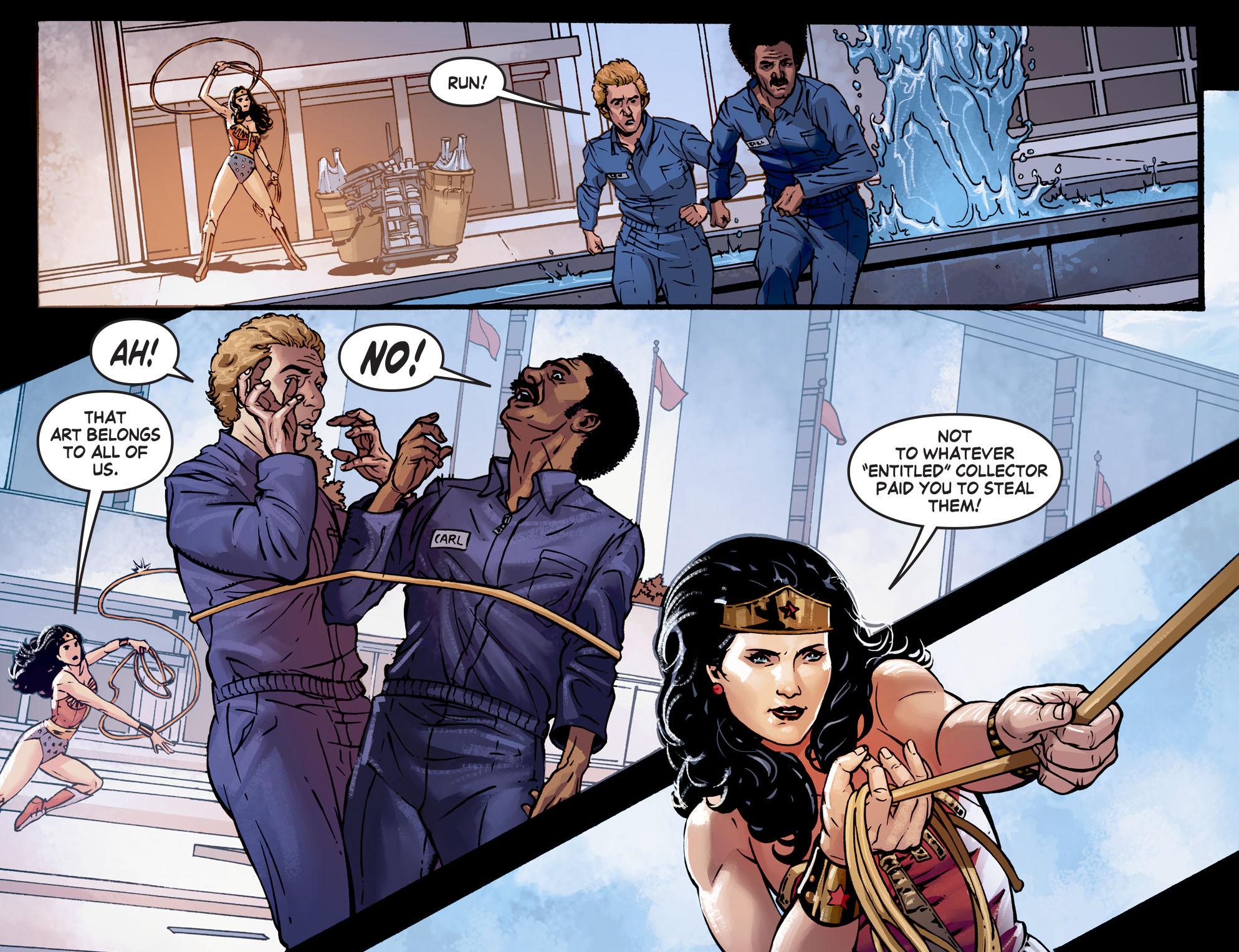 Read online Wonder Woman '77 [I] comic -  Issue #7 - 12