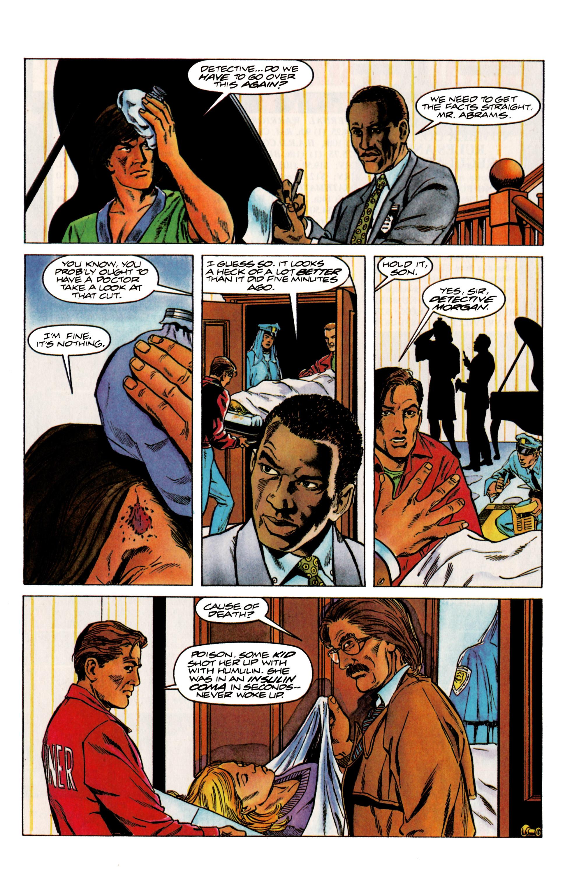 Read online Eternal Warrior (1992) comic -  Issue #13 - 7