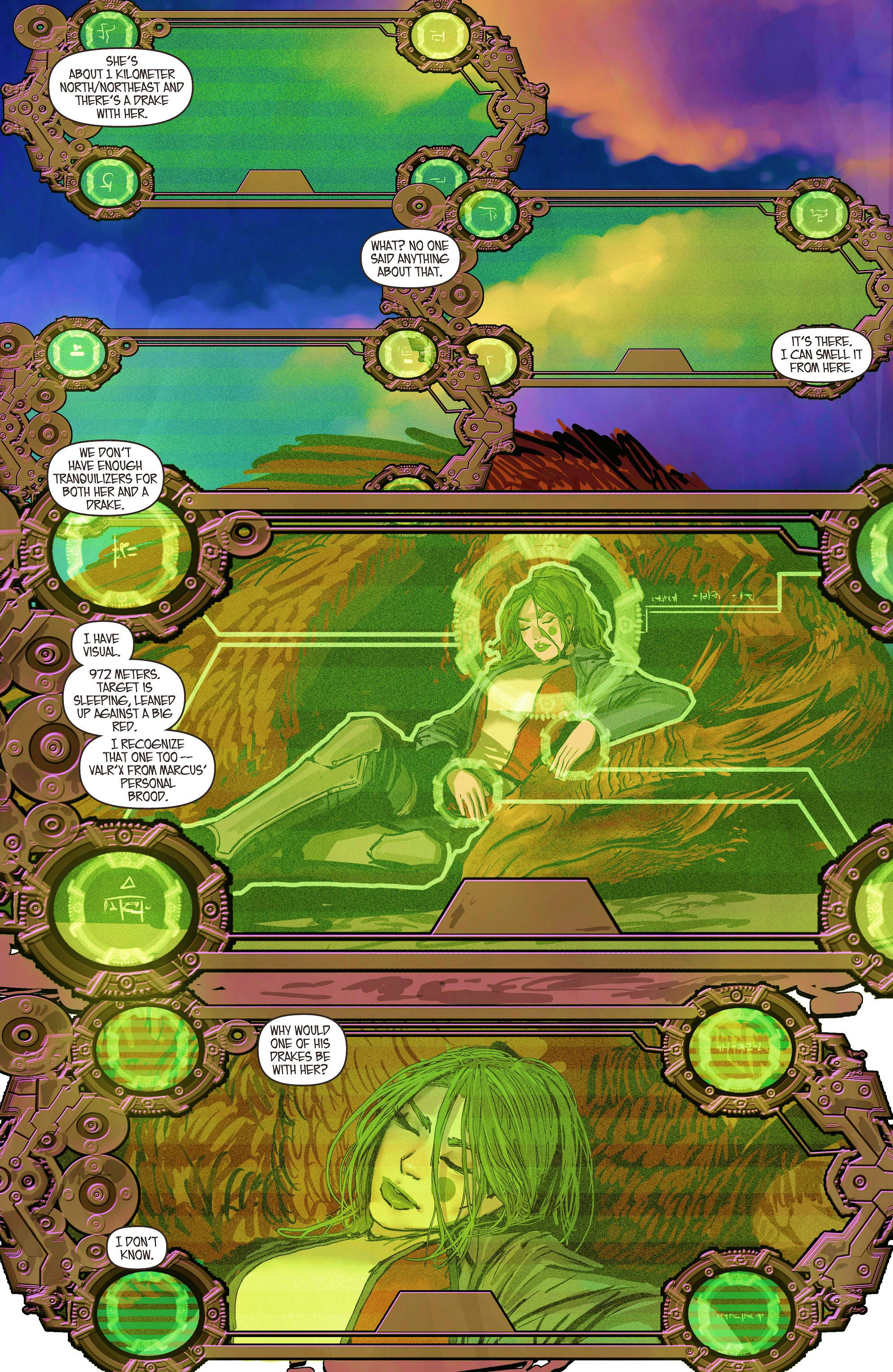 Read online Aphrodite IX (2013) comic -  Issue #6 - 4