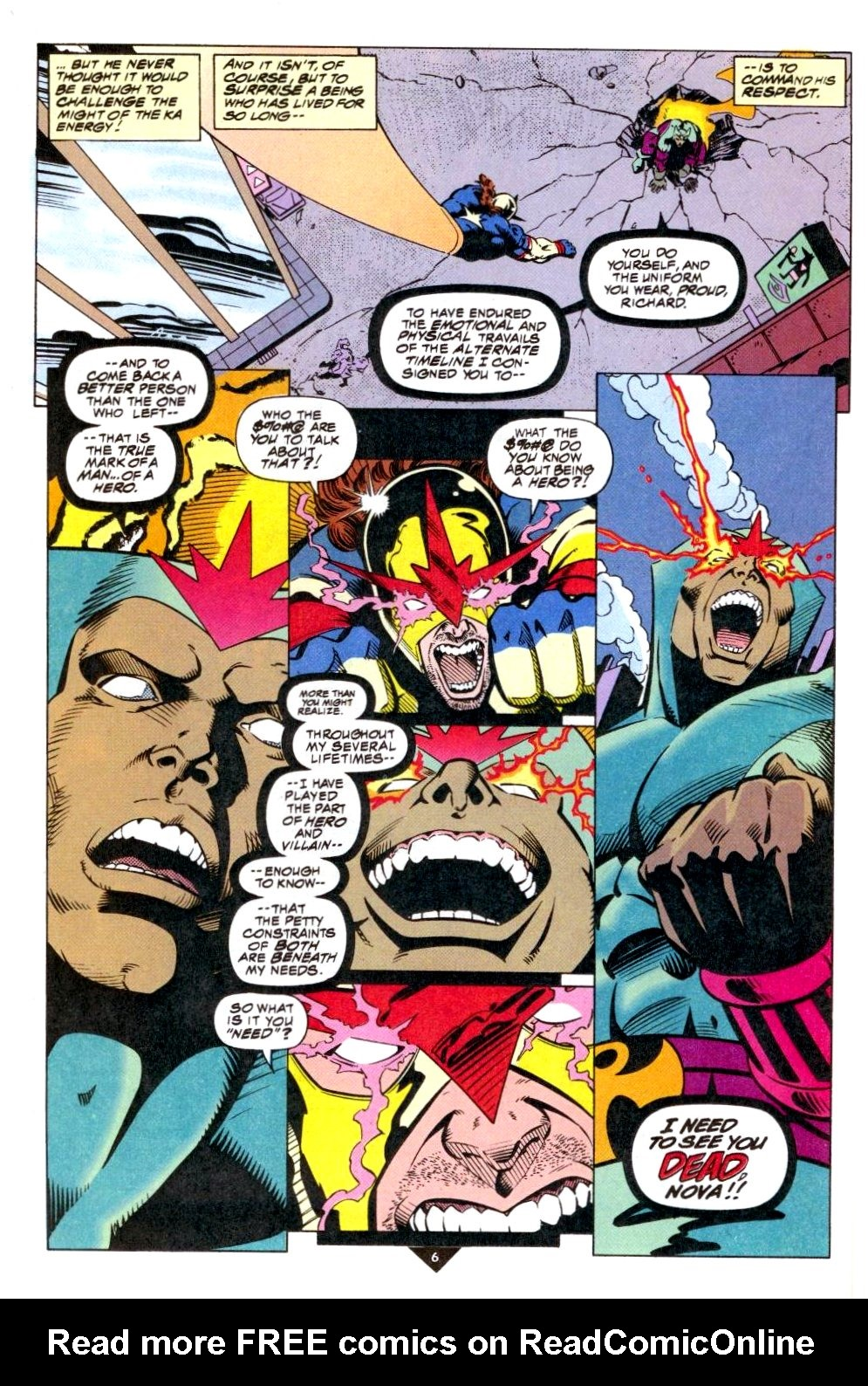 The New Warriors Issue #50 #54 - English 6