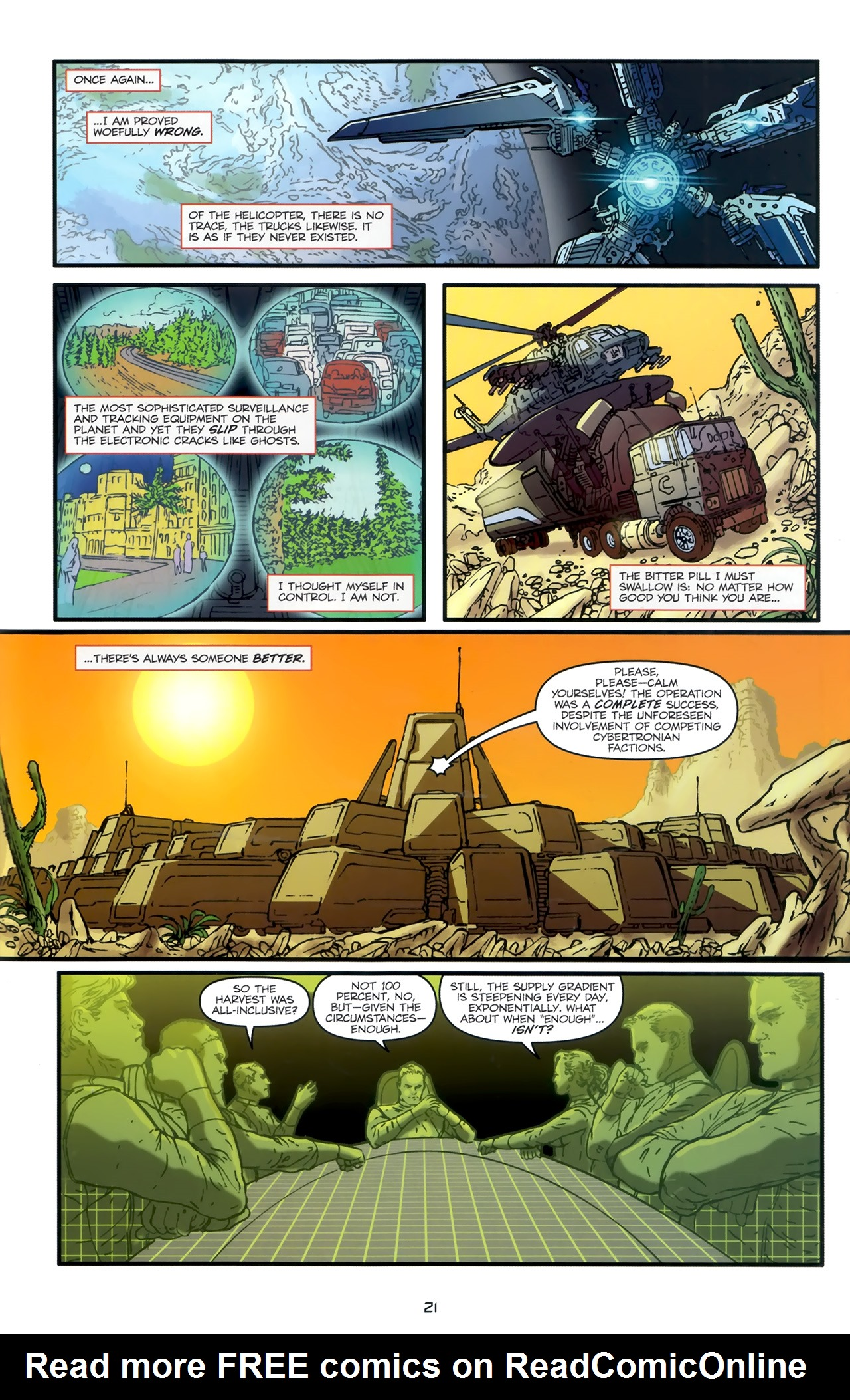 Read online Transformers: Nefarious comic -  Issue #1 - 25
