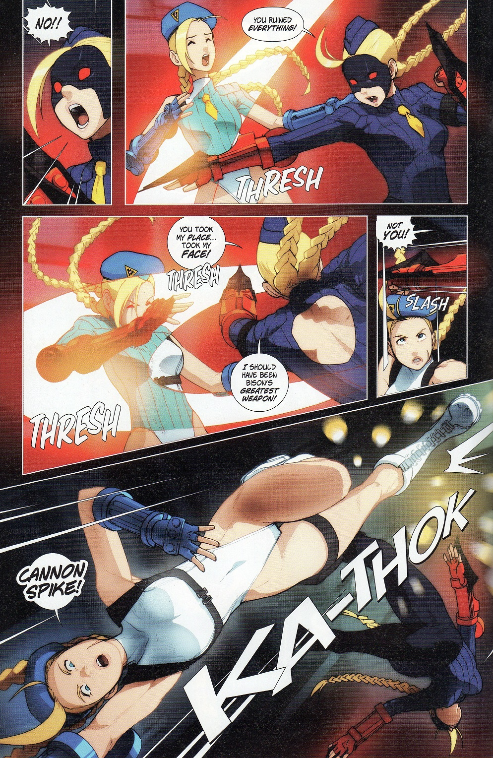 Street Fighter Legends: Cammy 3 Page 10