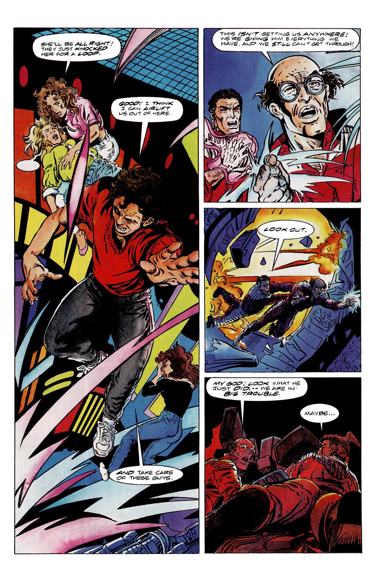 Read online Harbinger (1992) comic -  Issue #11 - 20