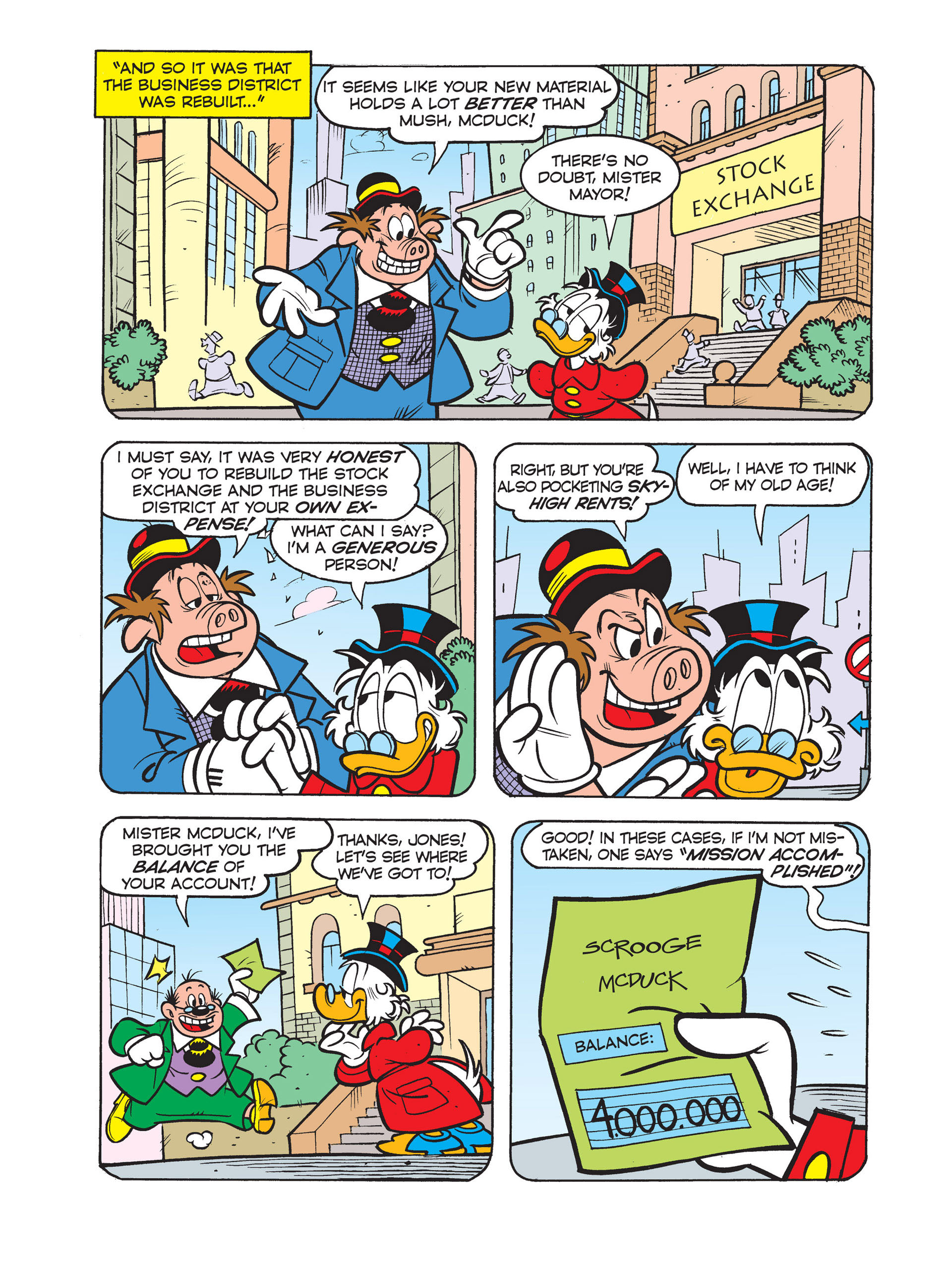 Read online All of Scrooge McDuck's Millions comic -  Issue #4 - 23