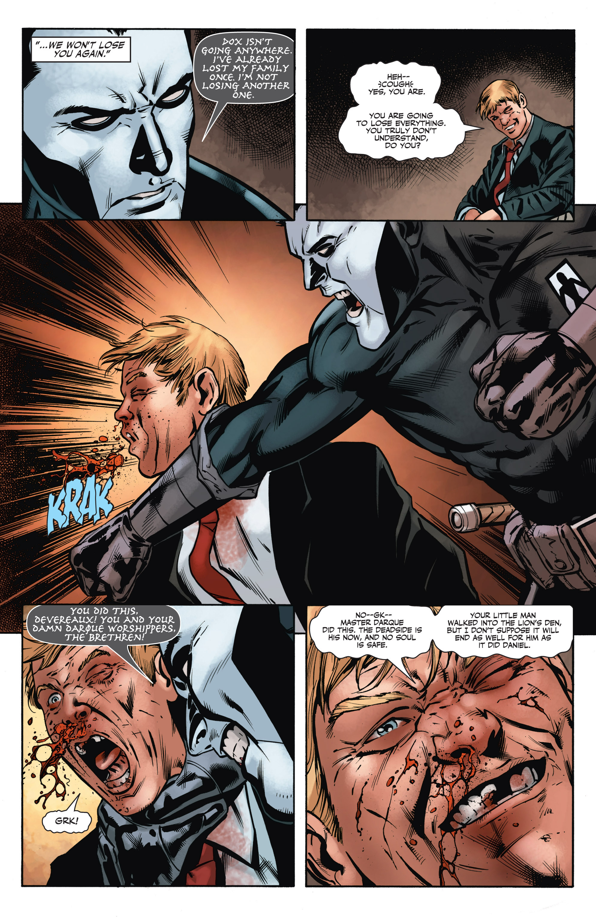 Read online Shadowman (2012) comic -  Issue #8 - 14
