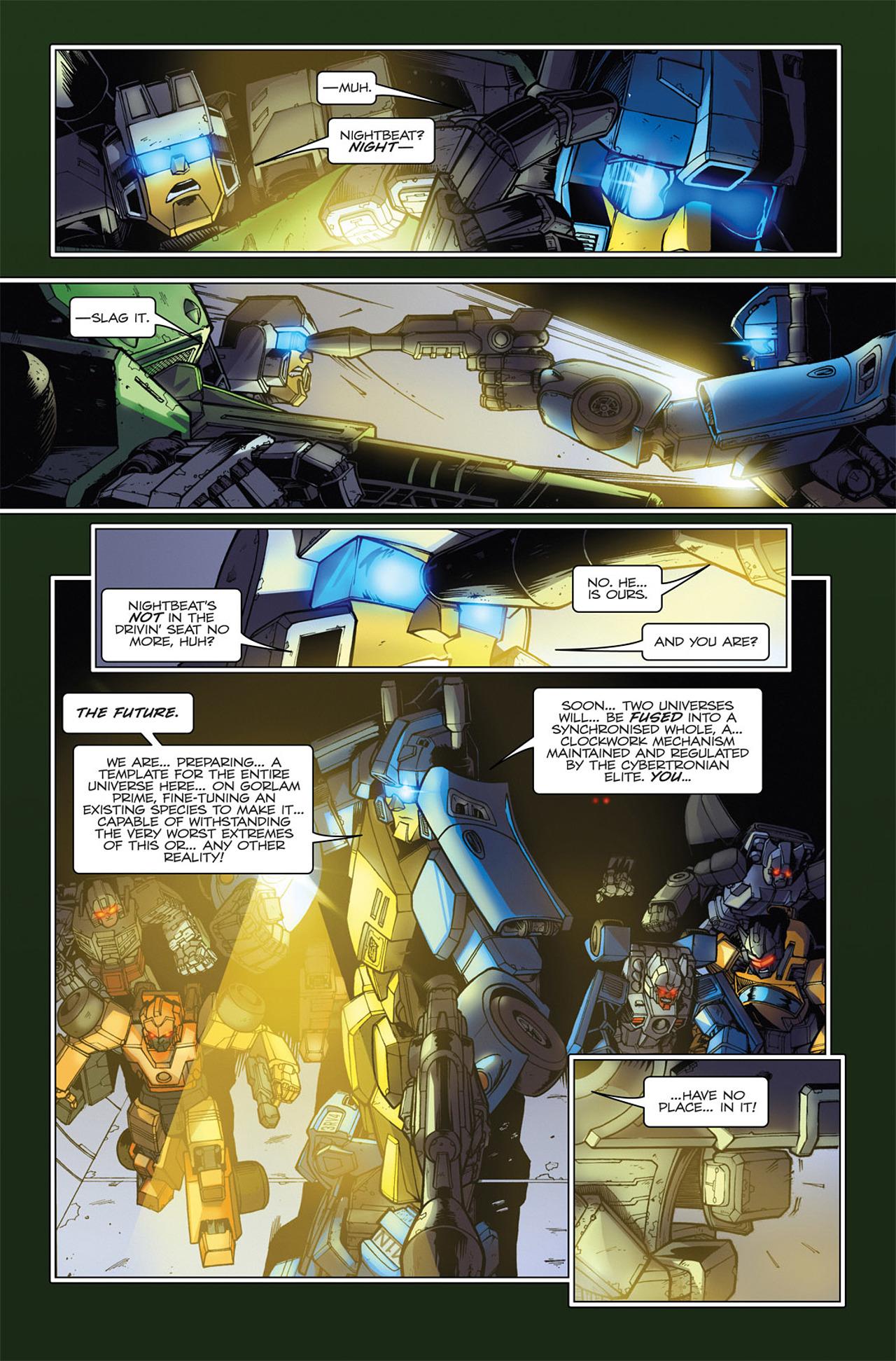 Read online Transformers Spotlight: Hardhead comic -  Issue # Full - 17