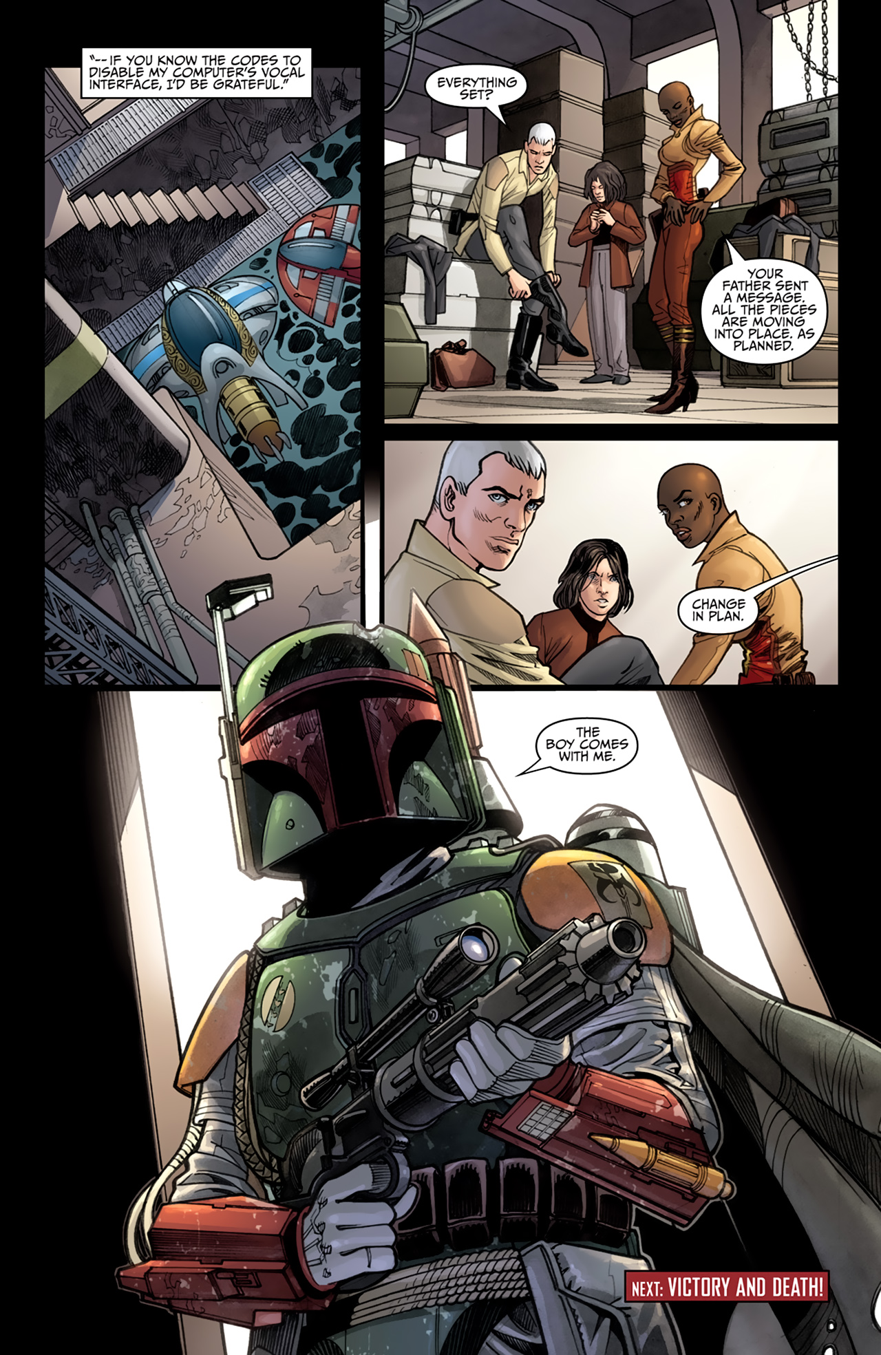 Read online Star Wars: Agent Of The Empire - Hard Targets comic -  Issue #4 - 23
