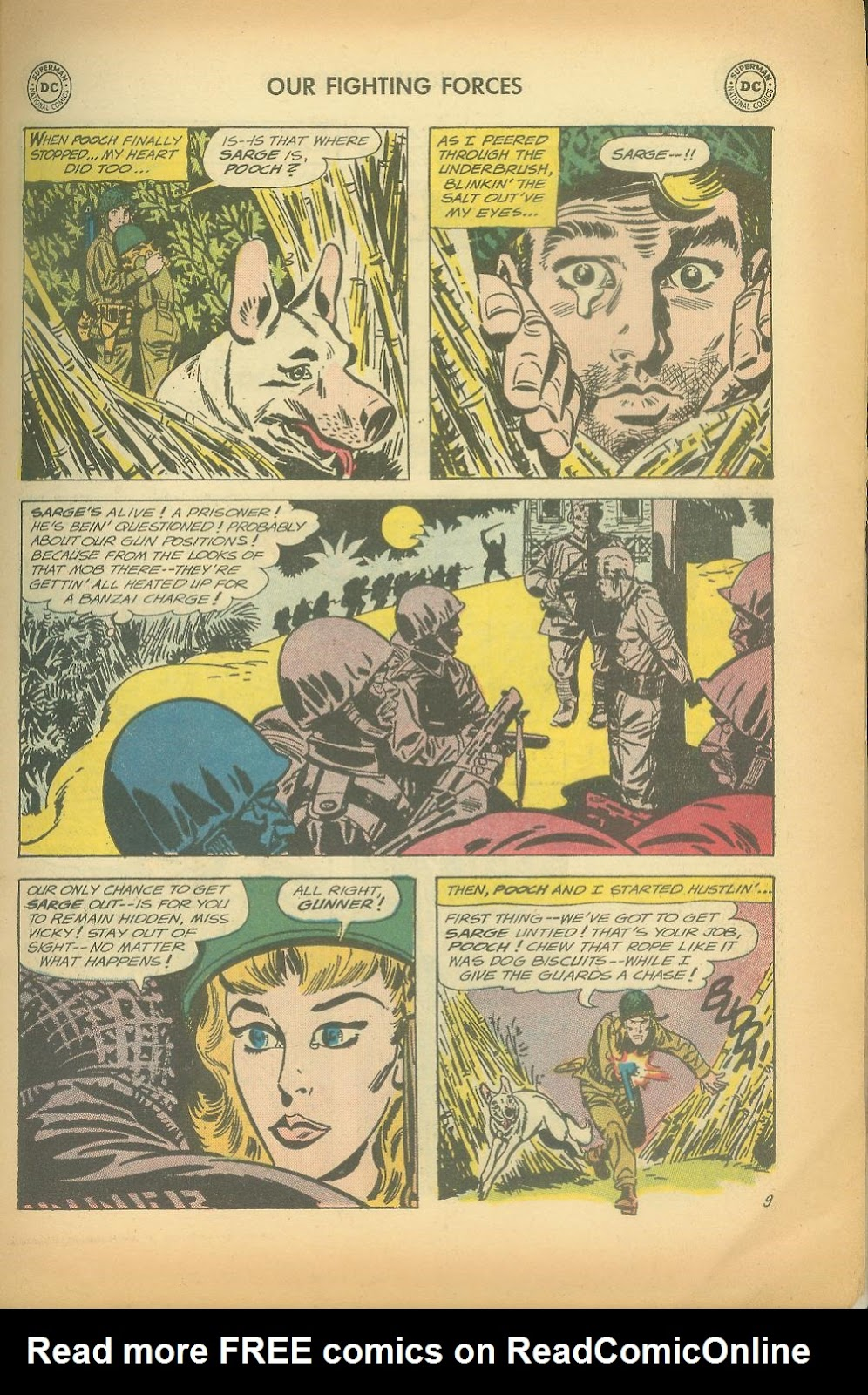 Our Fighting Forces (1954) issue 65 - Page 11