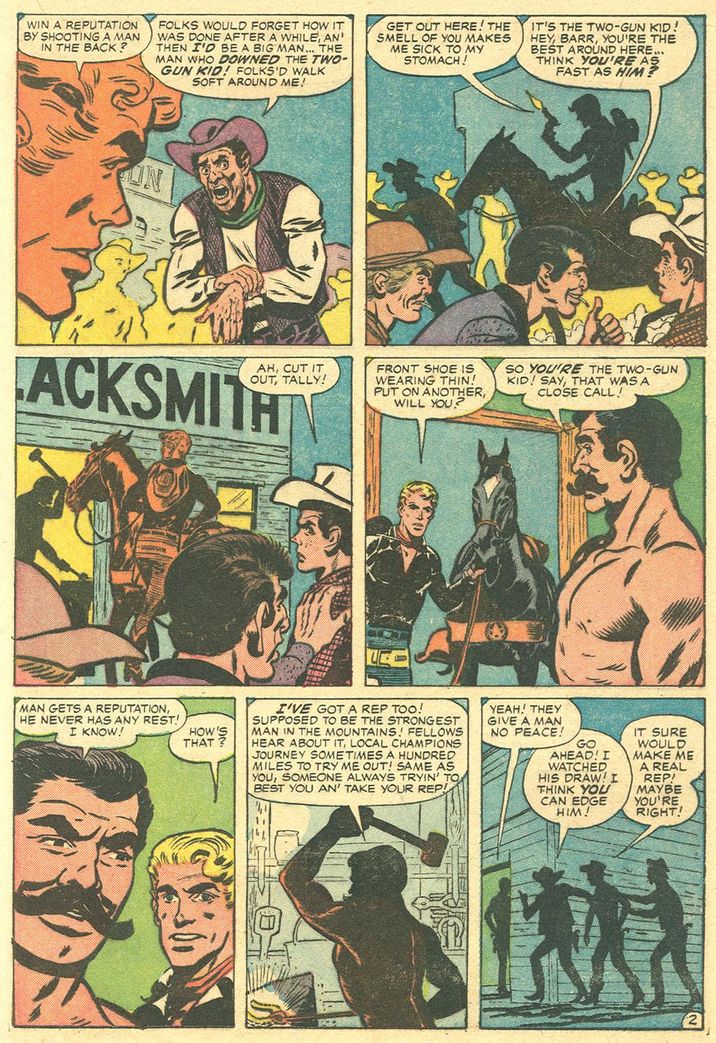 Read online Two-Gun Kid comic -  Issue #36 - 17