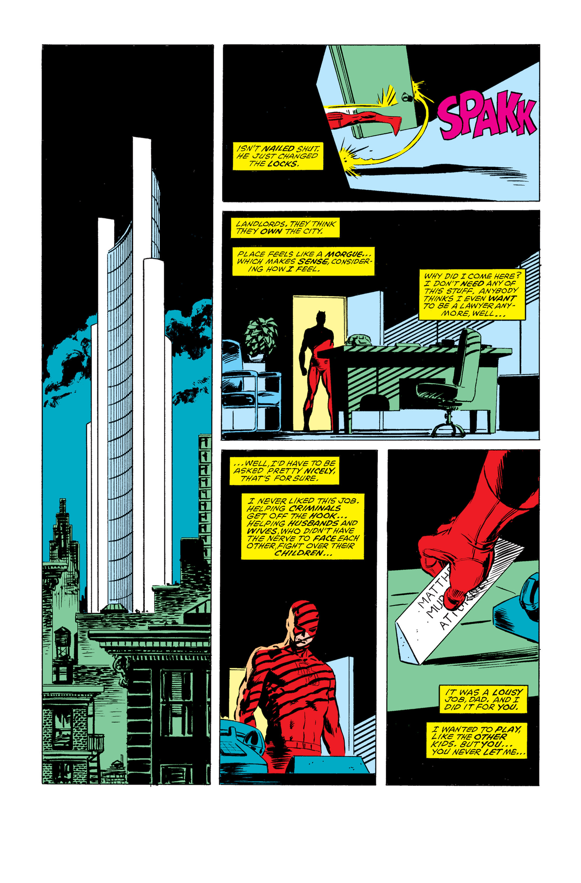 Read online Daredevil: Born Again comic -  Issue # Full - 15