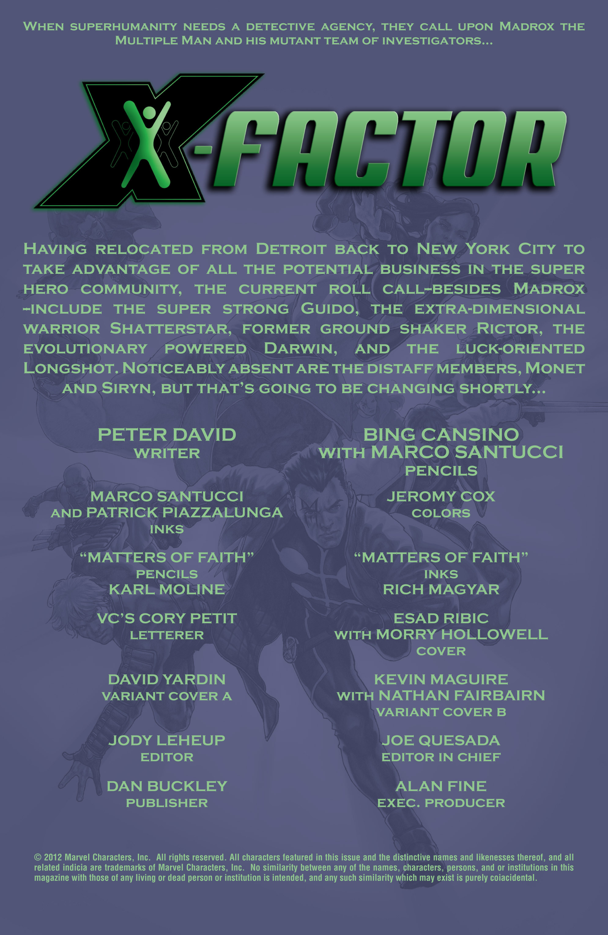 Read online X-Factor (1986) comic -  Issue #200 - 3