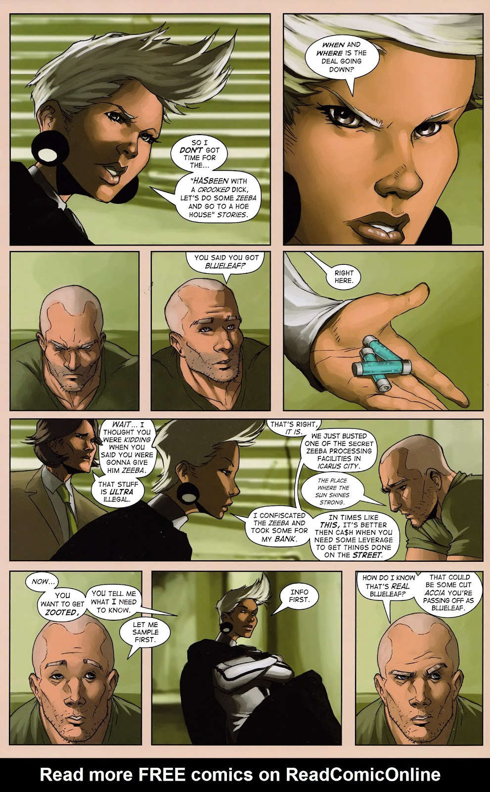 Read online Vescell comic -  Issue #3 - 17