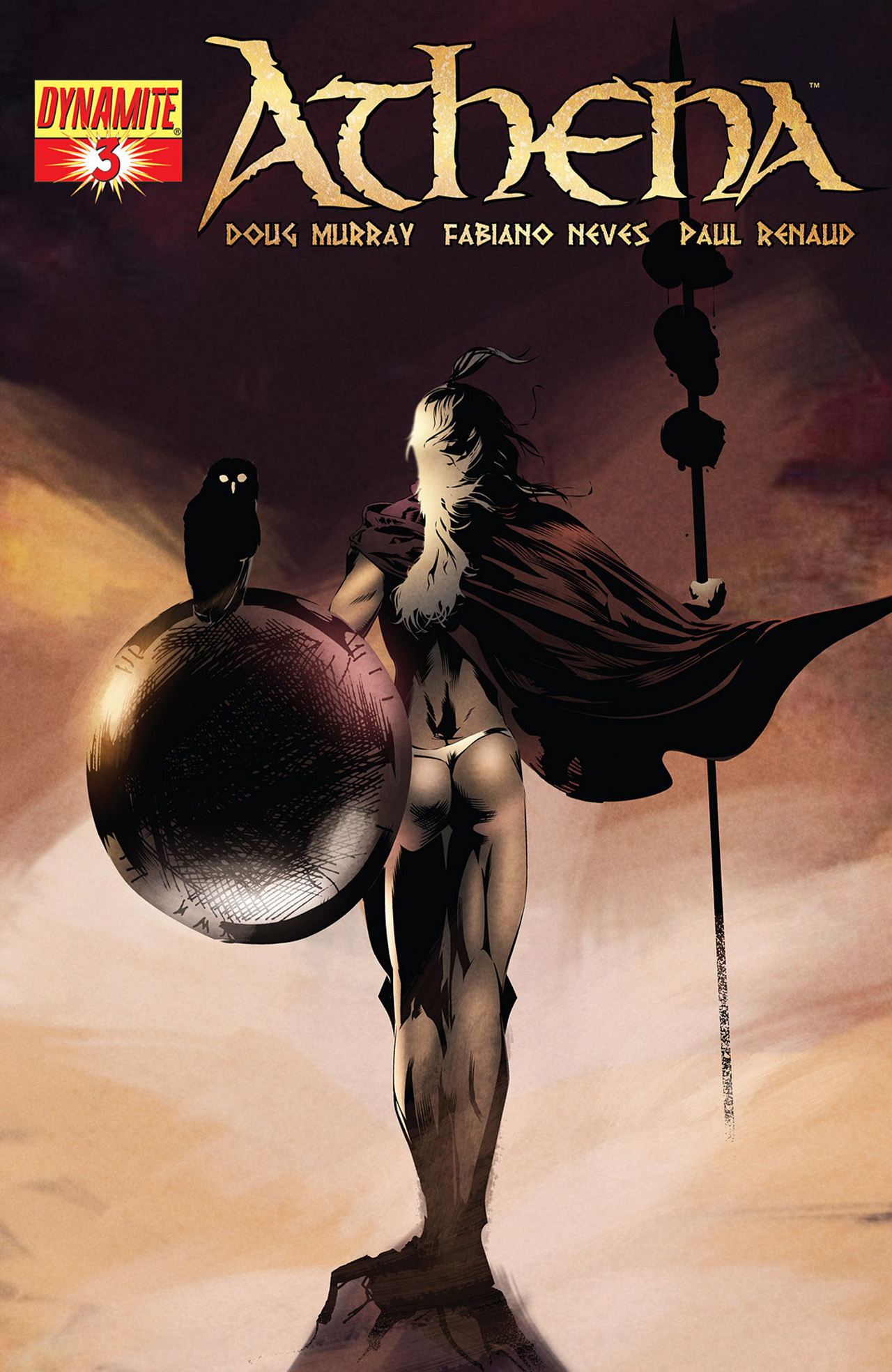 Read online Athena comic -  Issue #3 - 3