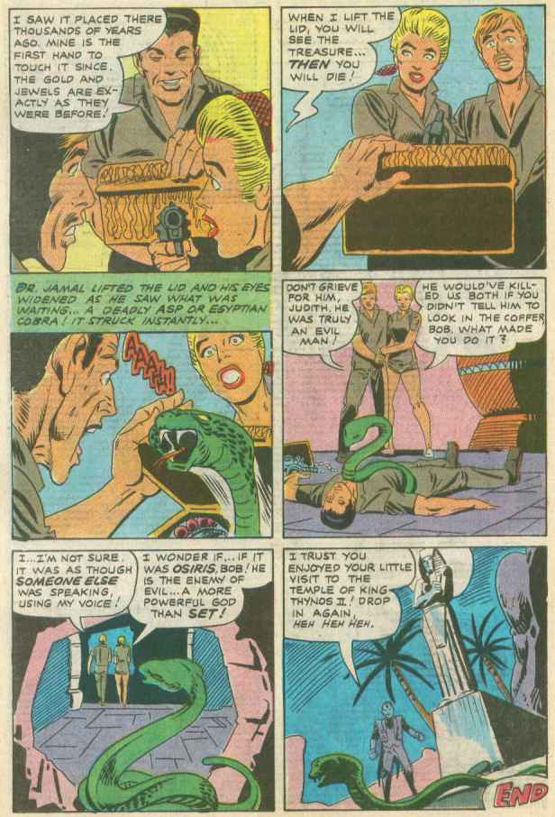 Read online Beyond the Grave (1983) comic -  Issue #10 - 10