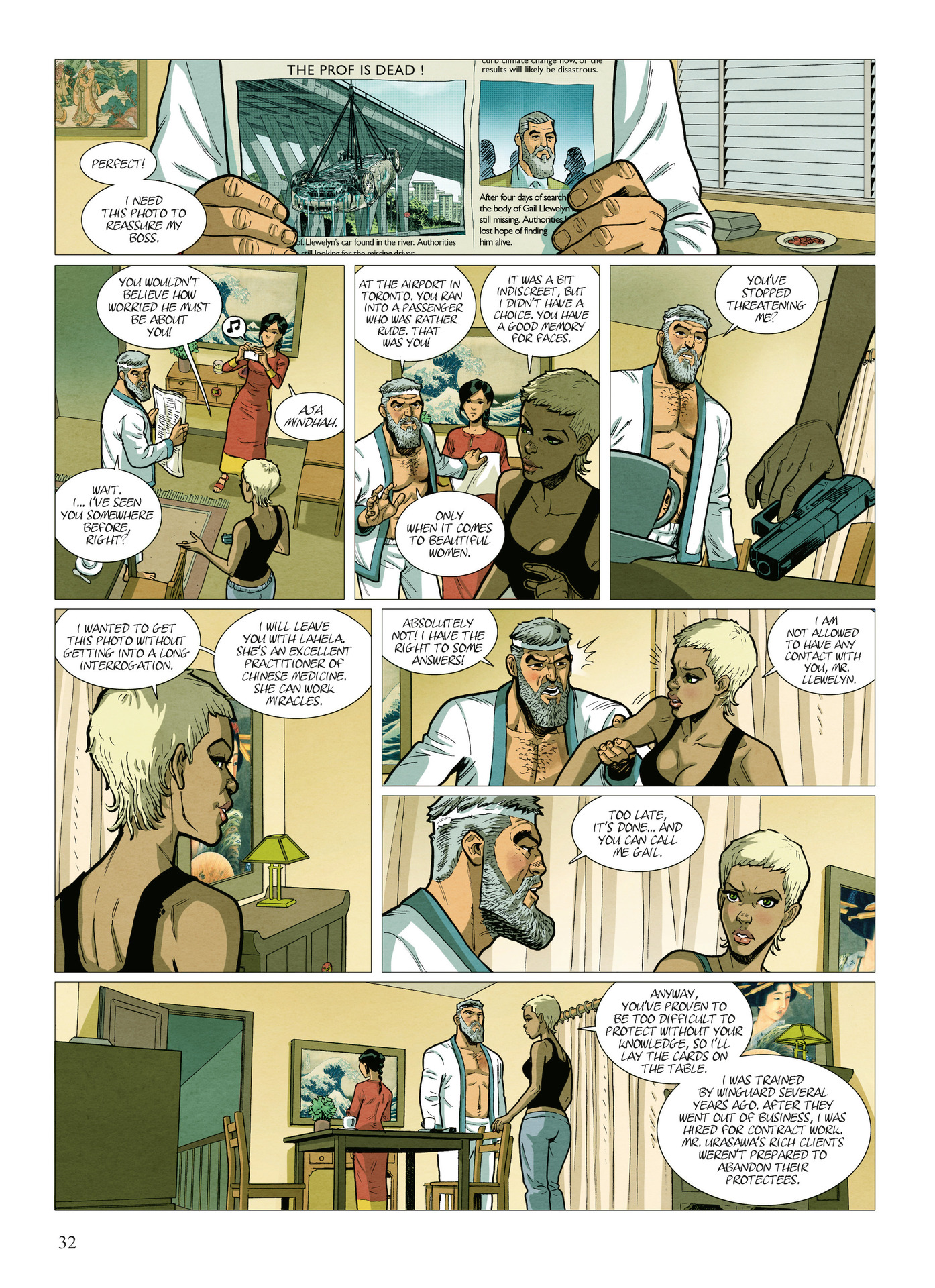 Read online Alter Ego comic -  Issue #10 - 33