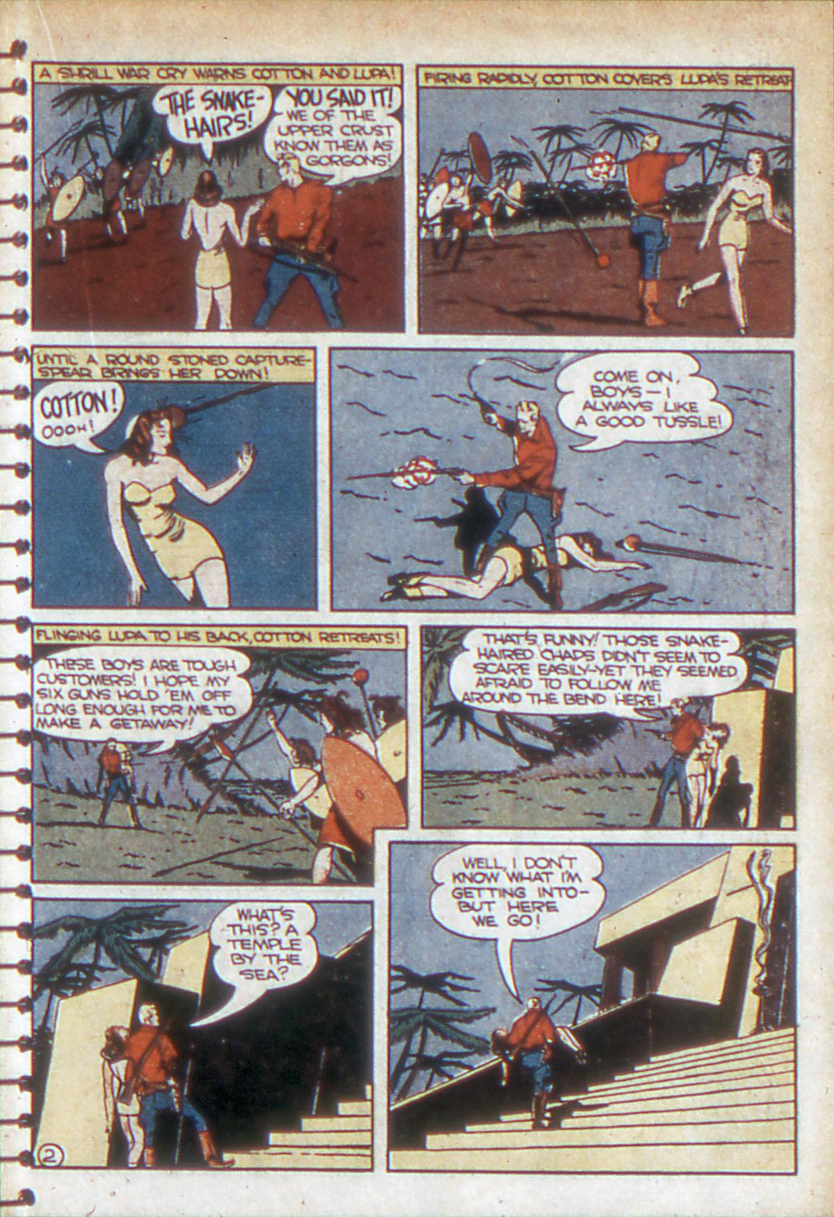 Read online Adventure Comics (1938) comic -  Issue #53 - 36