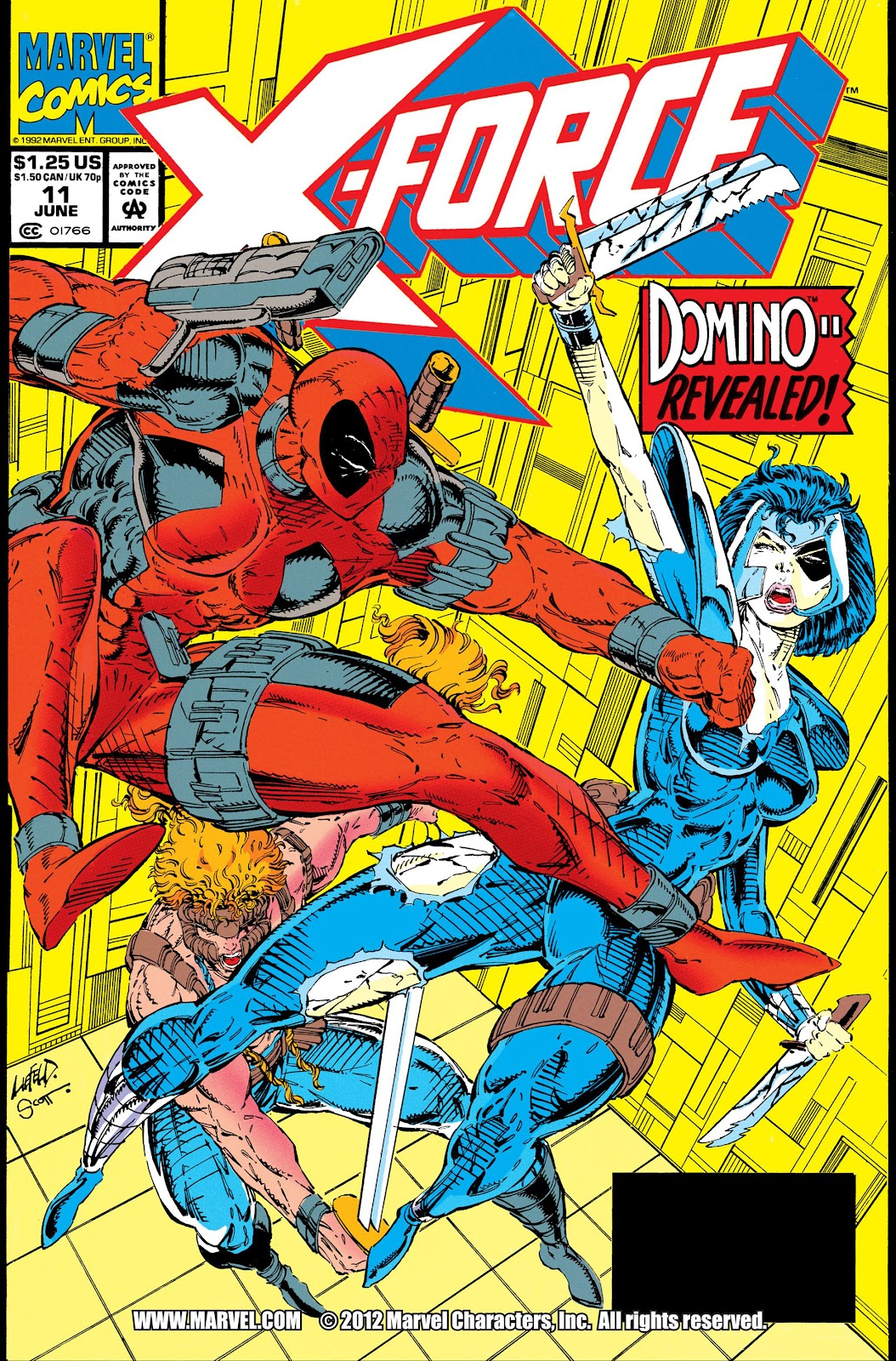X-Force (1991) Issue #11 #16 - English 1