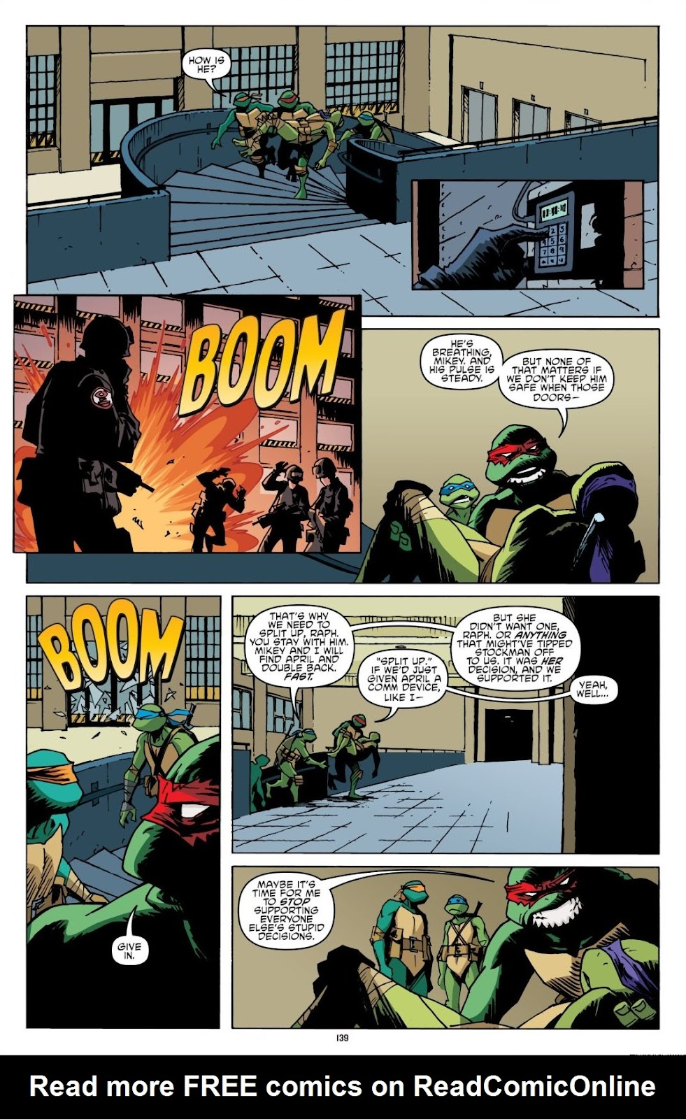 Read online Teenage Mutant Ninja Turtles: The IDW Collection comic -  Issue # TPB 8 (Part 2) - 38