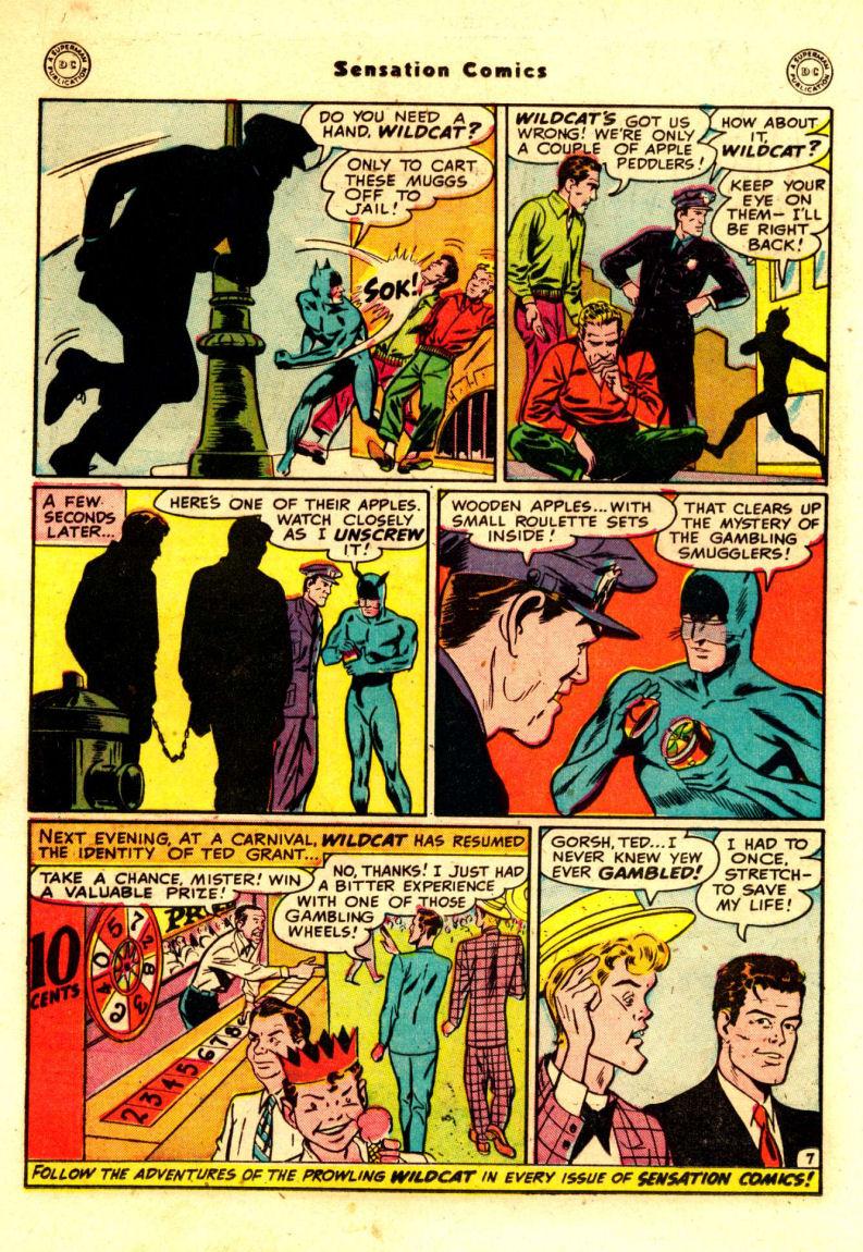 Read online Sensation (Mystery) Comics comic -  Issue #88 - 21