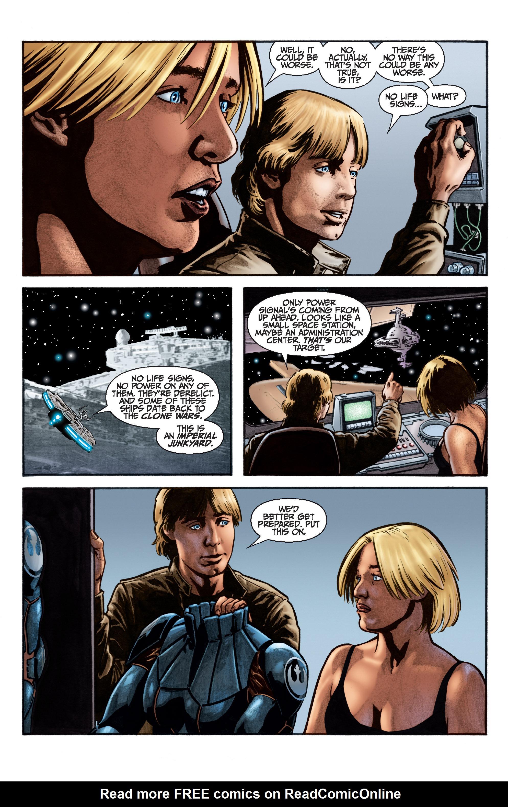 Read online Star Wars Omnibus comic -  Issue # Vol. 22 - 385