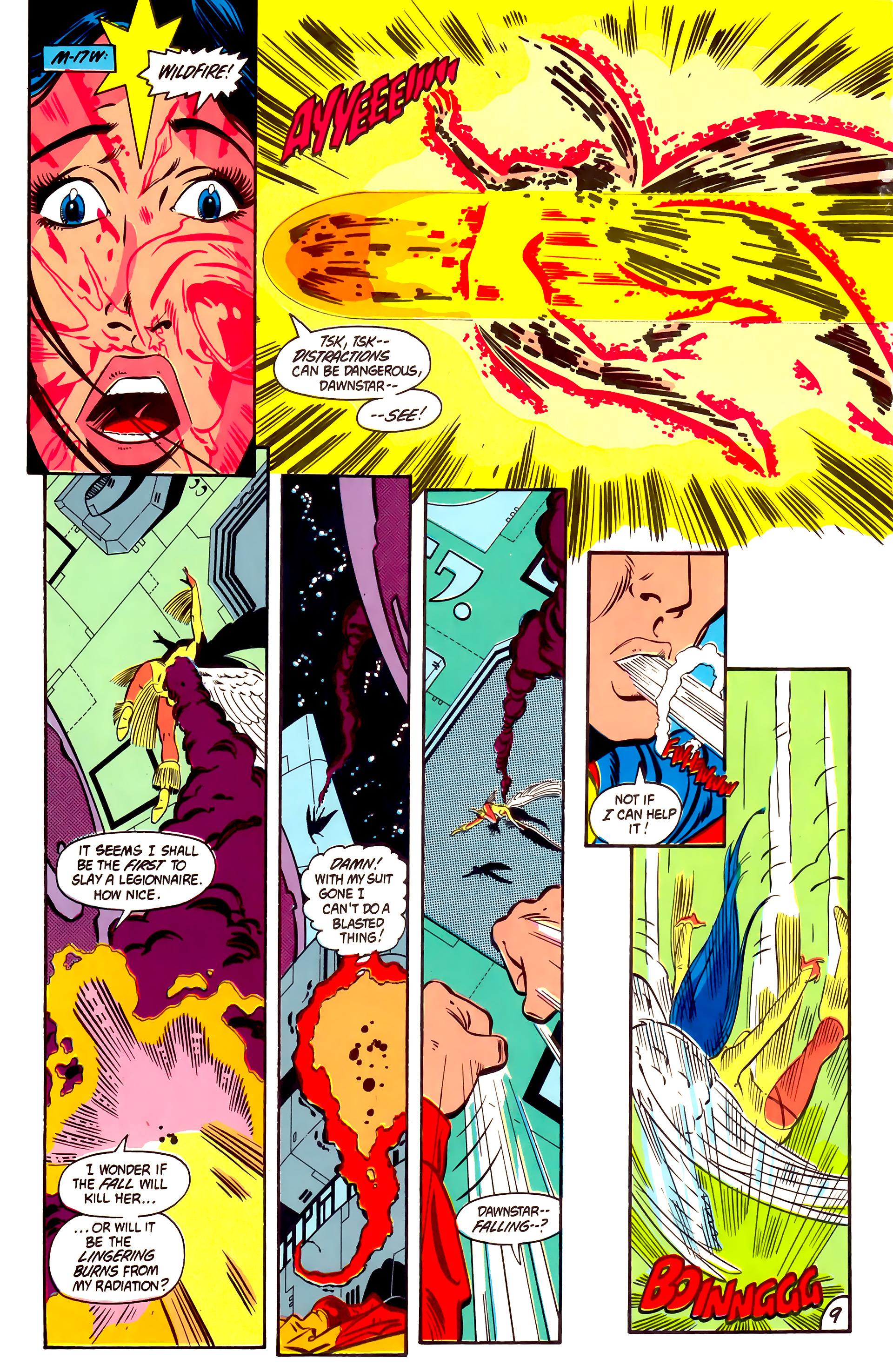 Legion of Super-Heroes (1984) 2 Page 10
