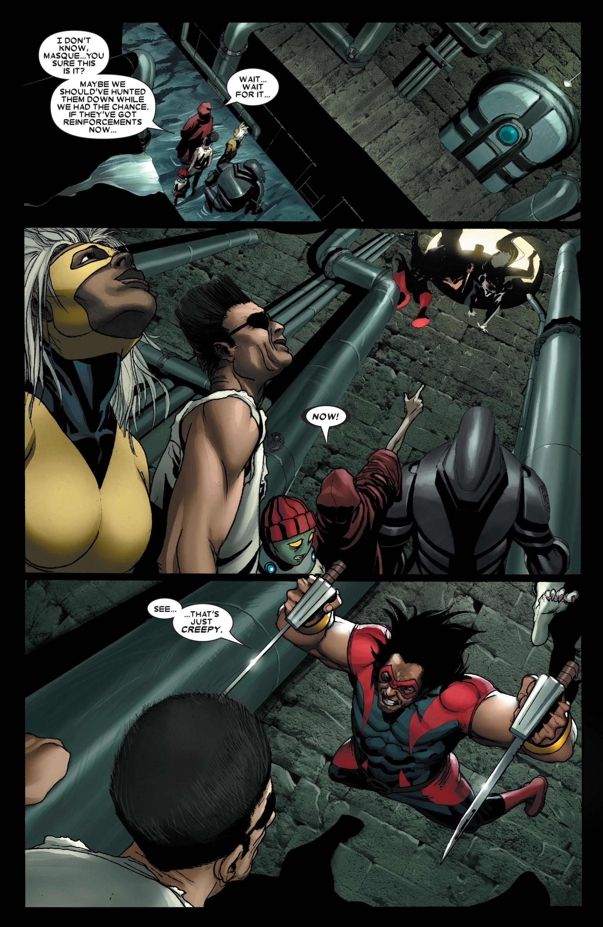 Read online Uncanny X-Men (1963) comic -  Issue #490 - 13
