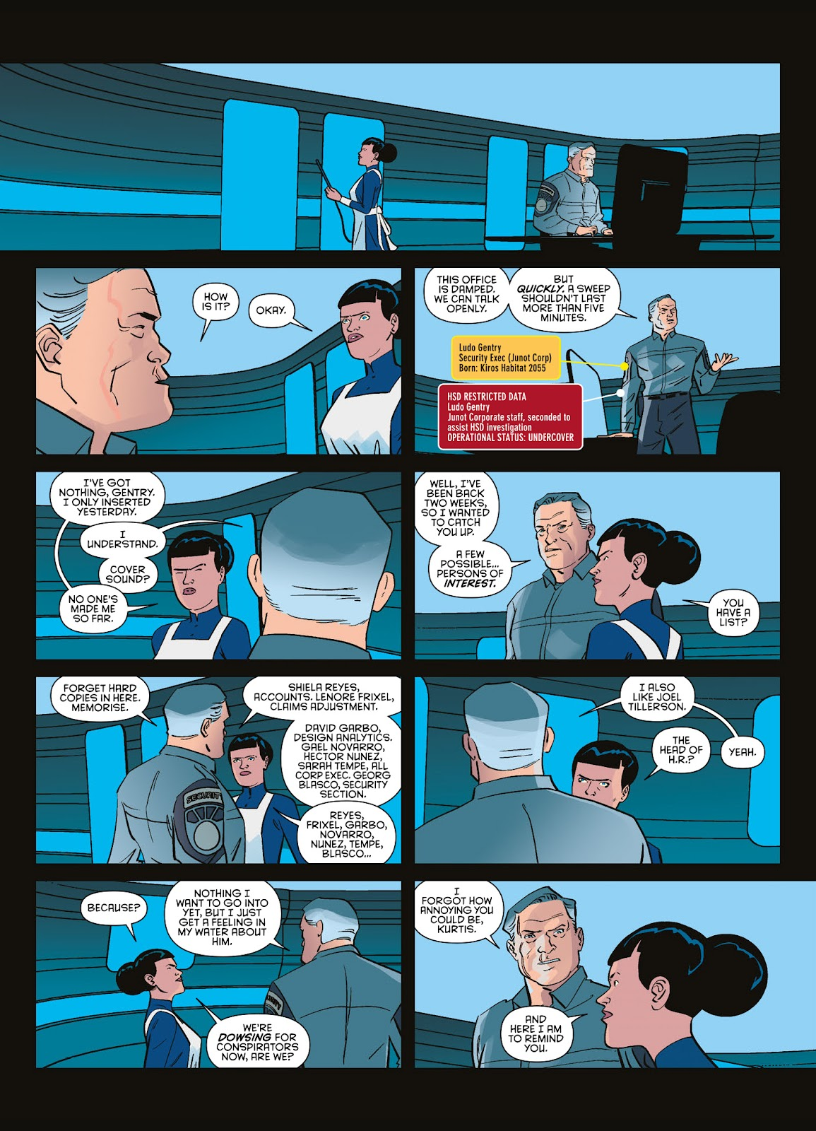 Read online Brink comic -  Issue # TPB 3 - 15