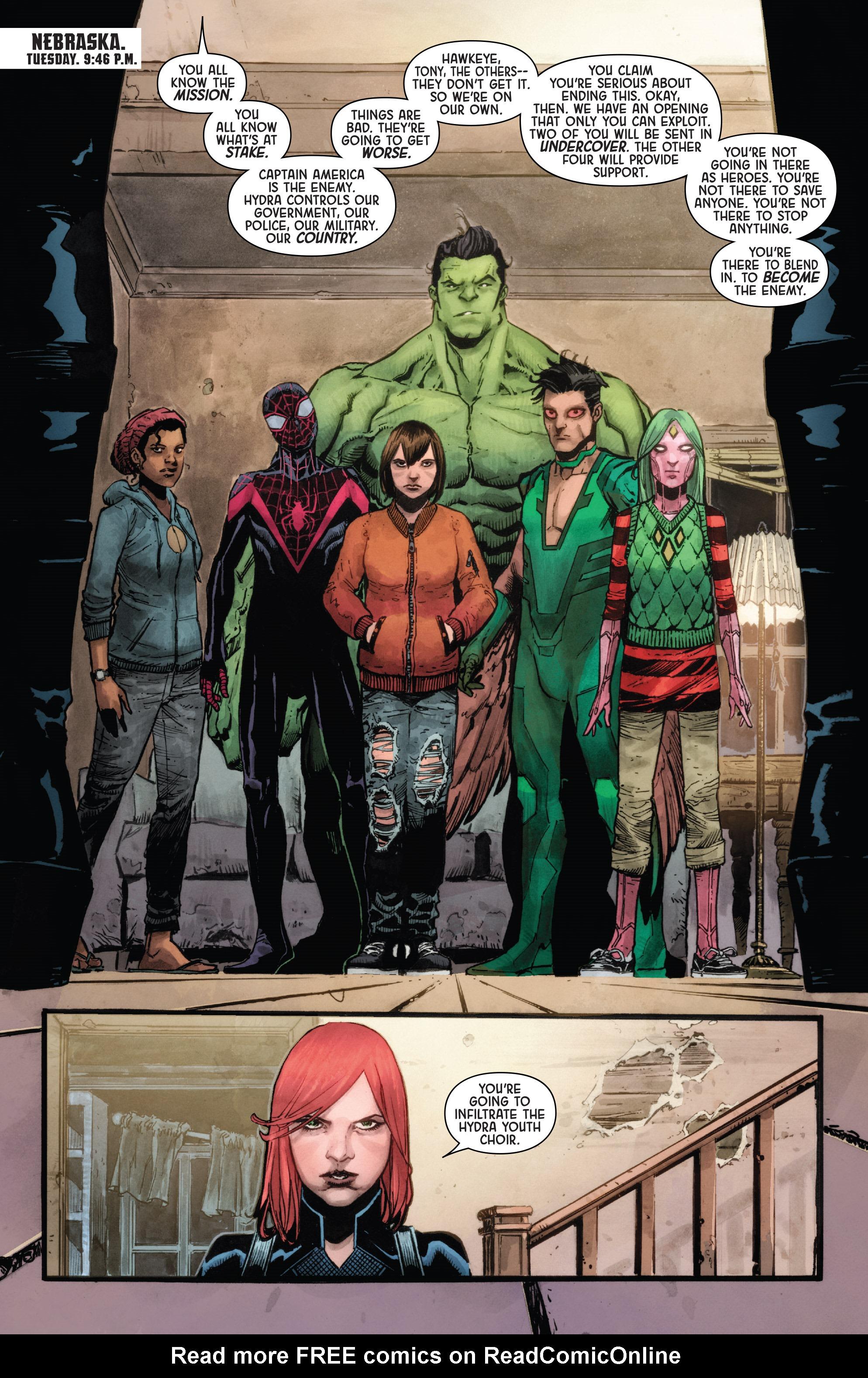 Read online Secret Empire: Uprising comic -  Issue # Full - 3