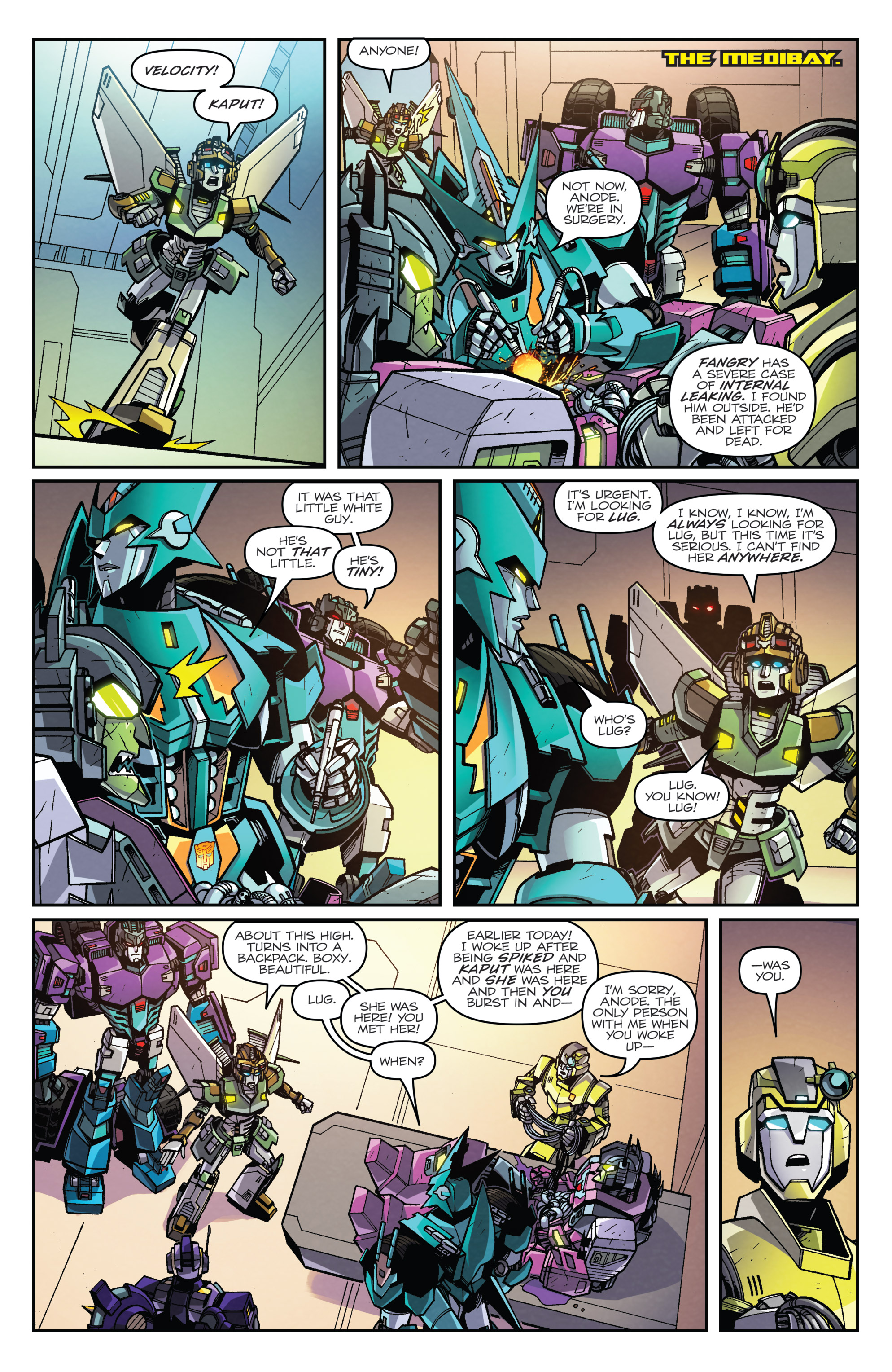 Read online Transformers: Lost Light comic -  Issue #5 - 16