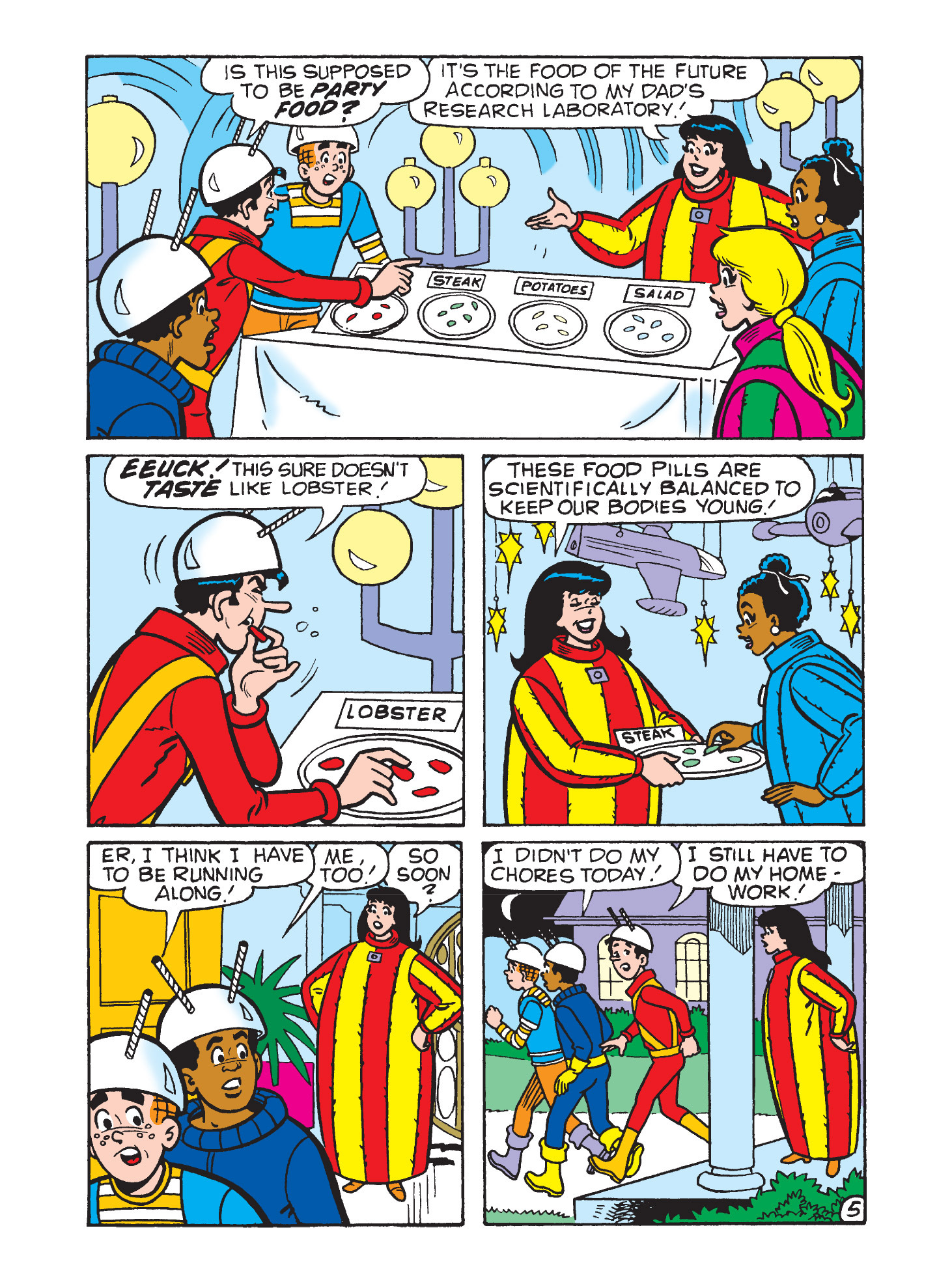 Read online Archie's Funhouse Double Digest comic -  Issue #9 - 76