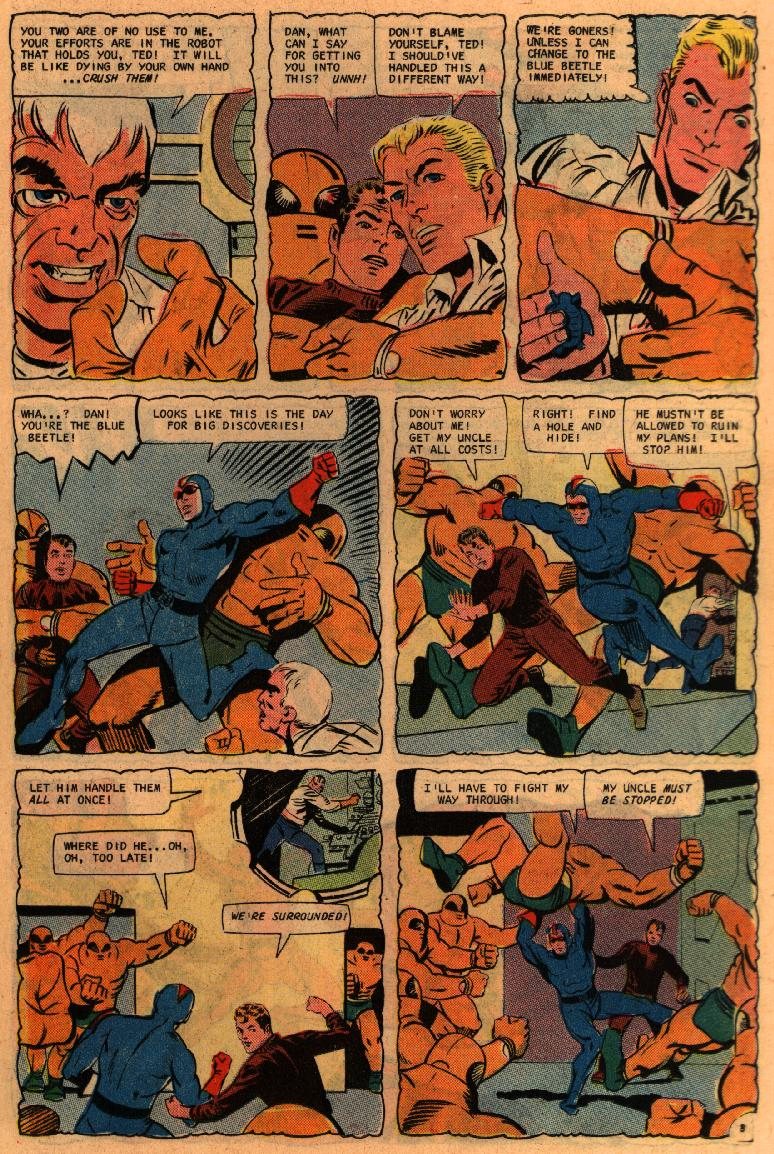 Blue Beetle (1967) issue 2 - Page 11