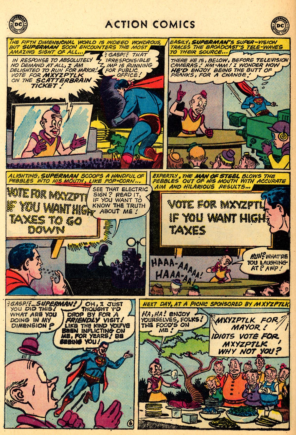 Read online Action Comics (1938) comic -  Issue #273 - 8