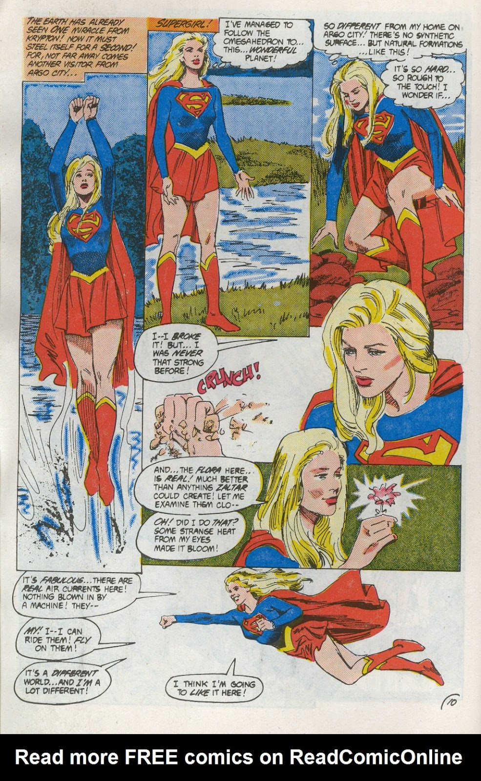 Read online Supergirl Movie Special comic -  Issue # Full - 12