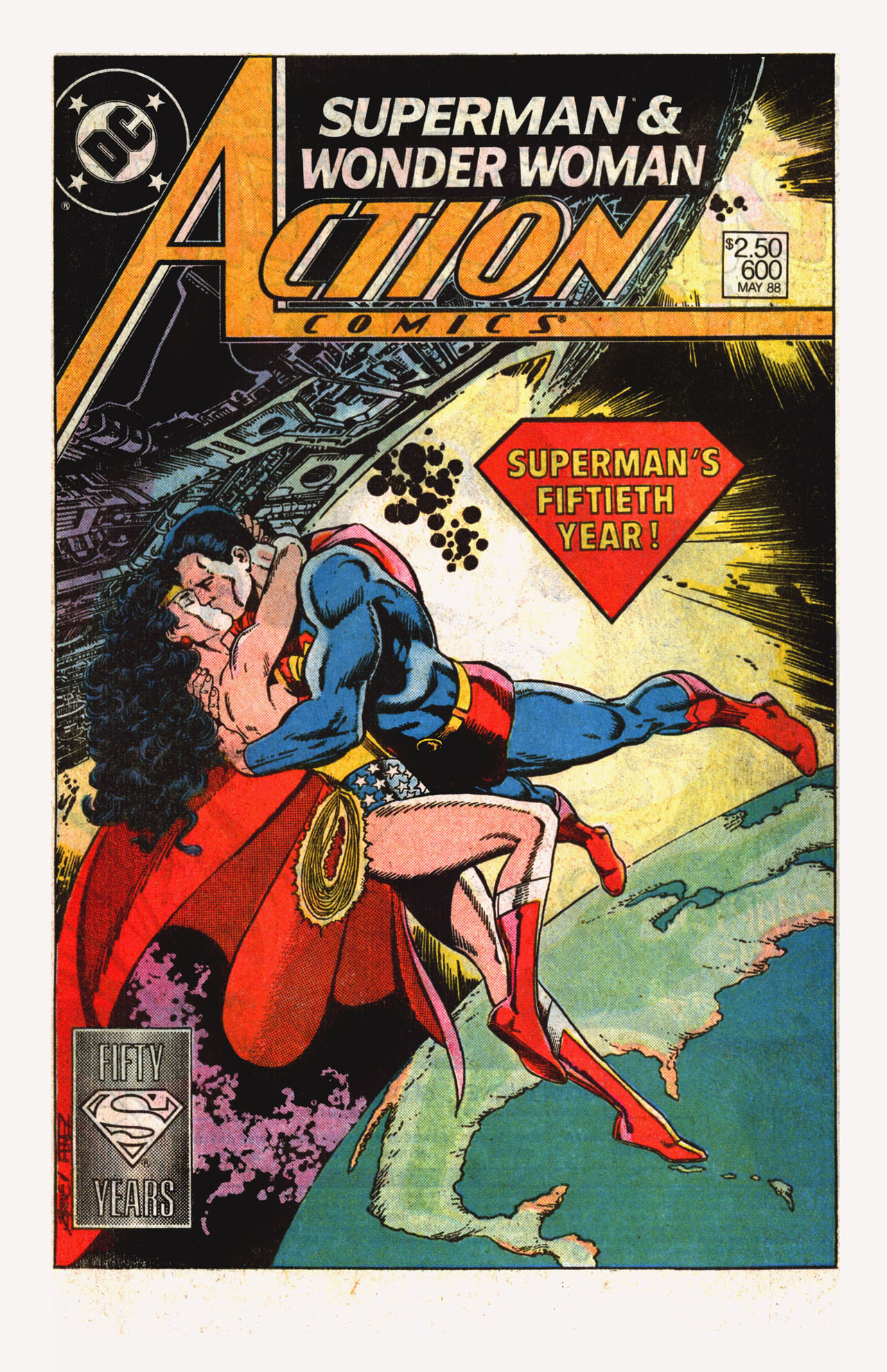 Read online Action Comics (1938) comic -  Issue #600 - 2