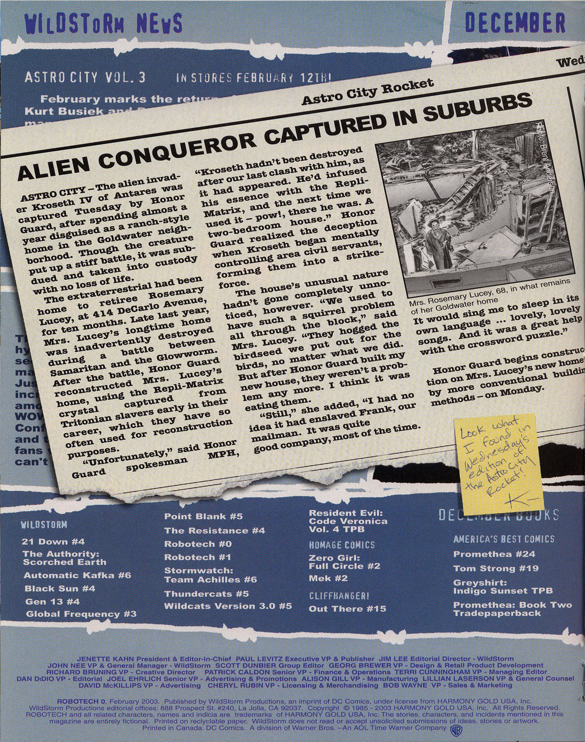 Robotech (2003) issue 0 - Page 19