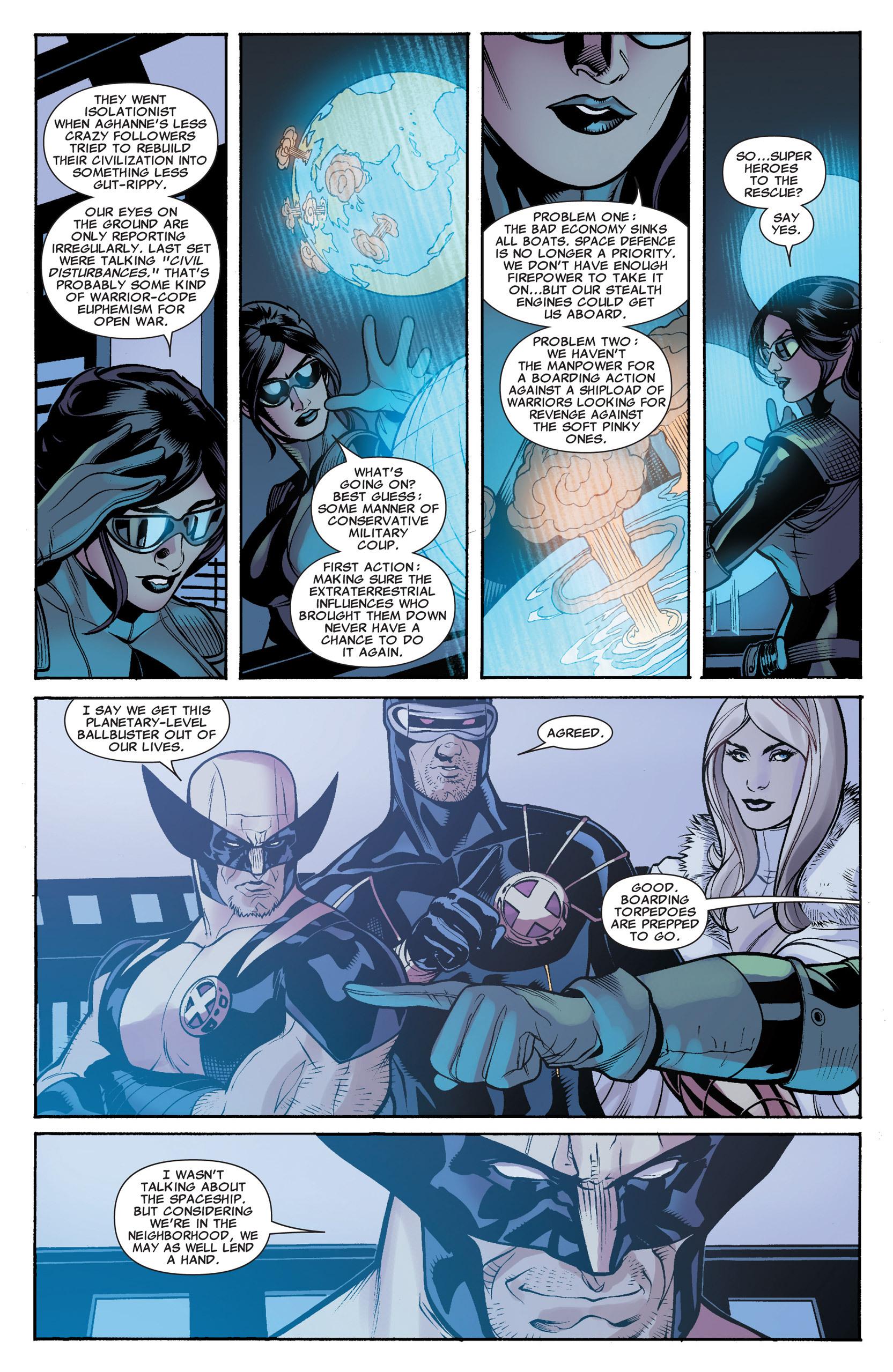 Read online Uncanny X-Men (1963) comic -  Issue #535 - 20