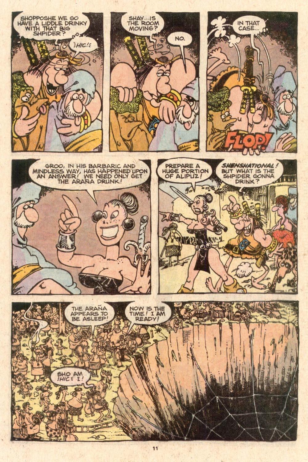 Read online Sergio Aragonés Groo the Wanderer comic -  Issue #52 - 11