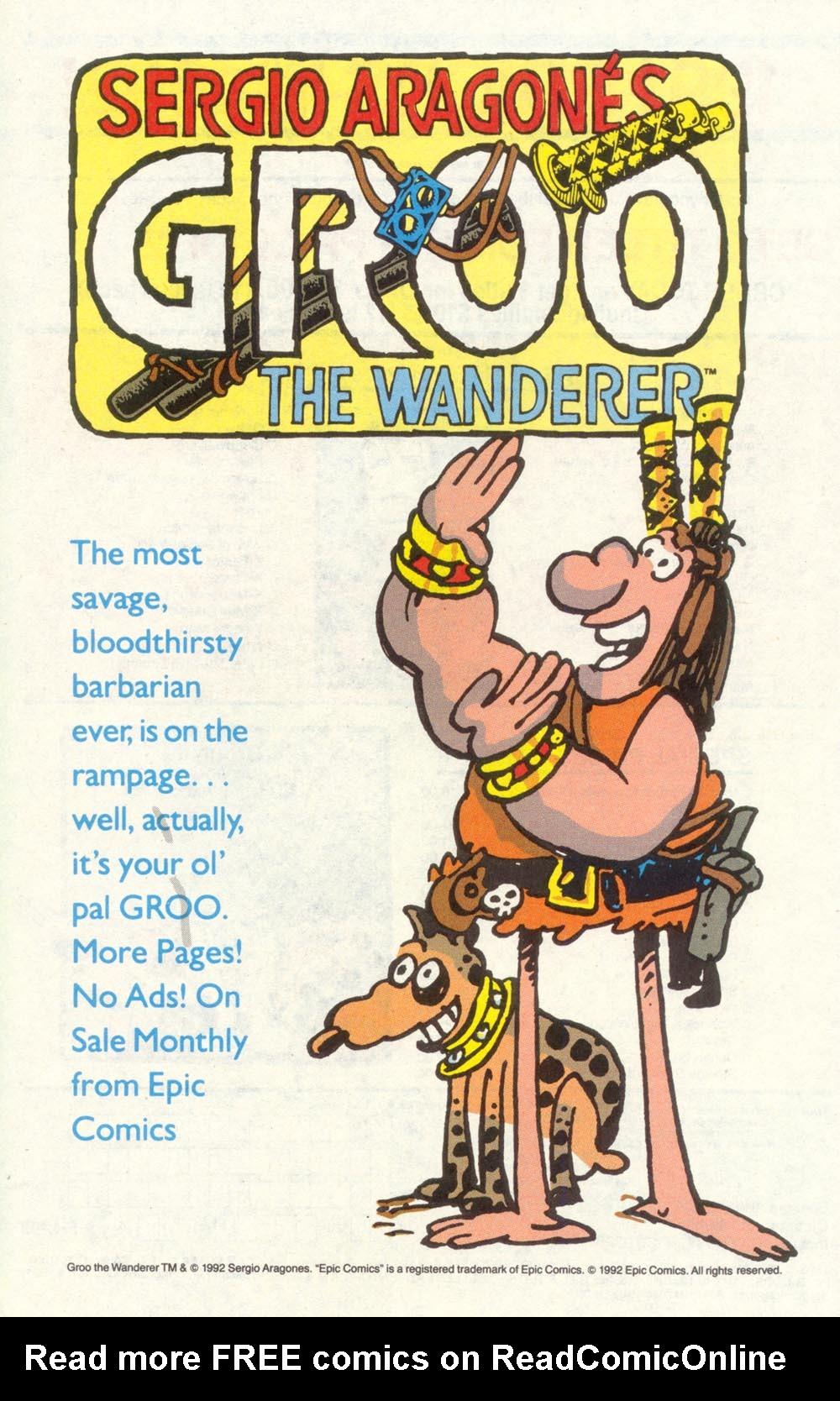 Read online Sergio Aragonés Groo the Wanderer comic -  Issue #88 - 32