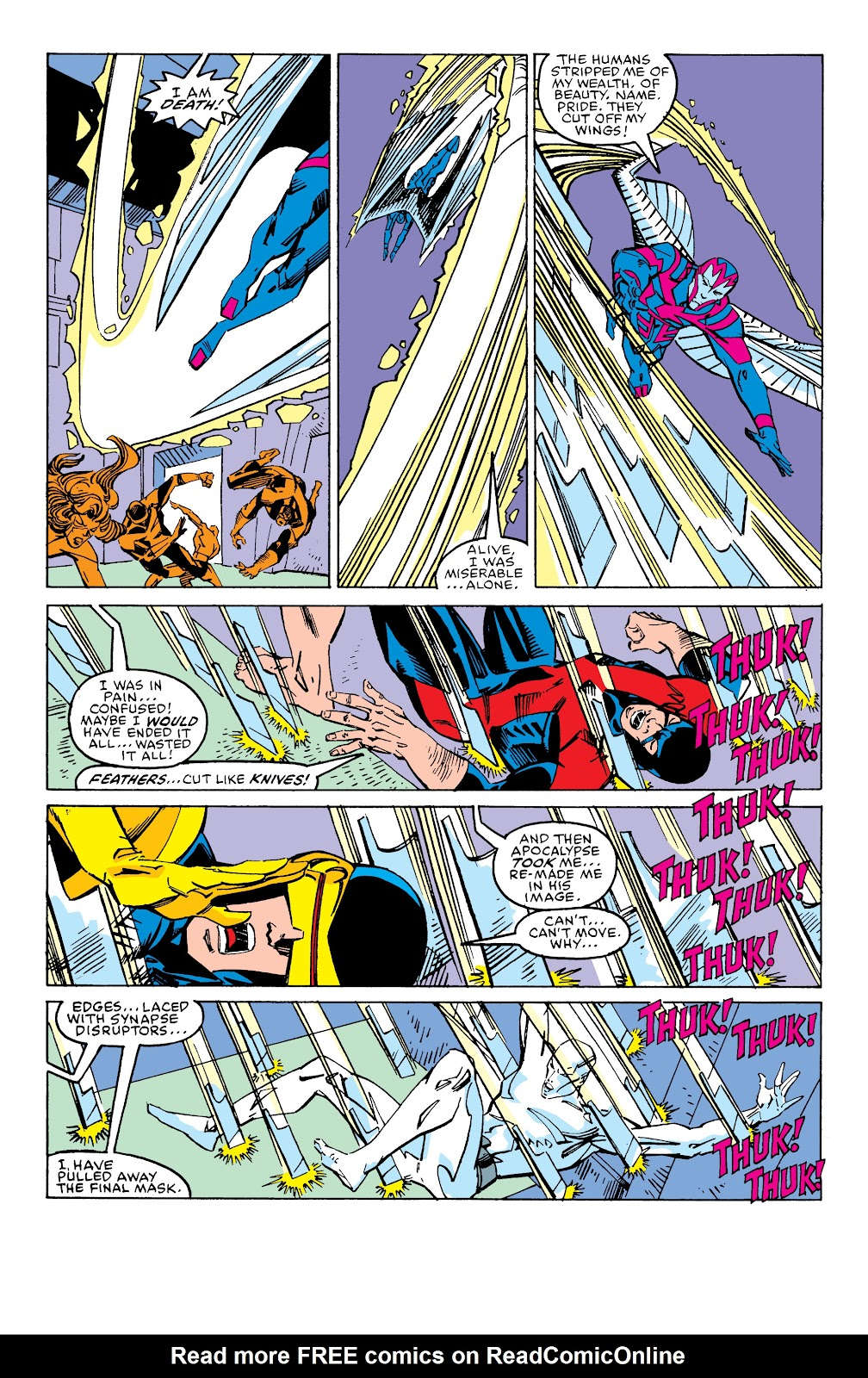 Read online X-Men Milestones: Fall of the Mutants comic -  Issue # TPB (Part 2) - 98