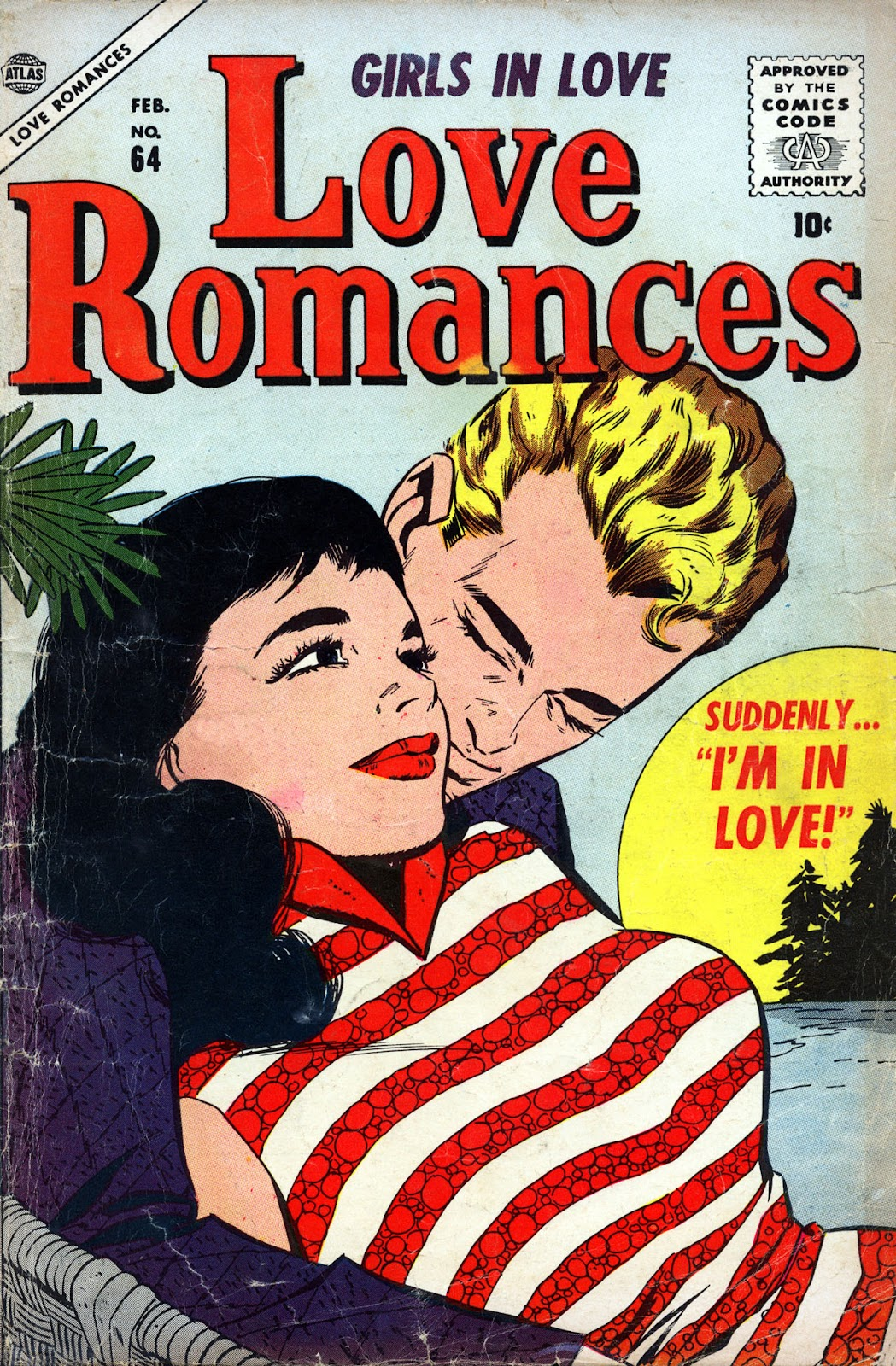 Love Romances (1949) issue 64 - Page 1
