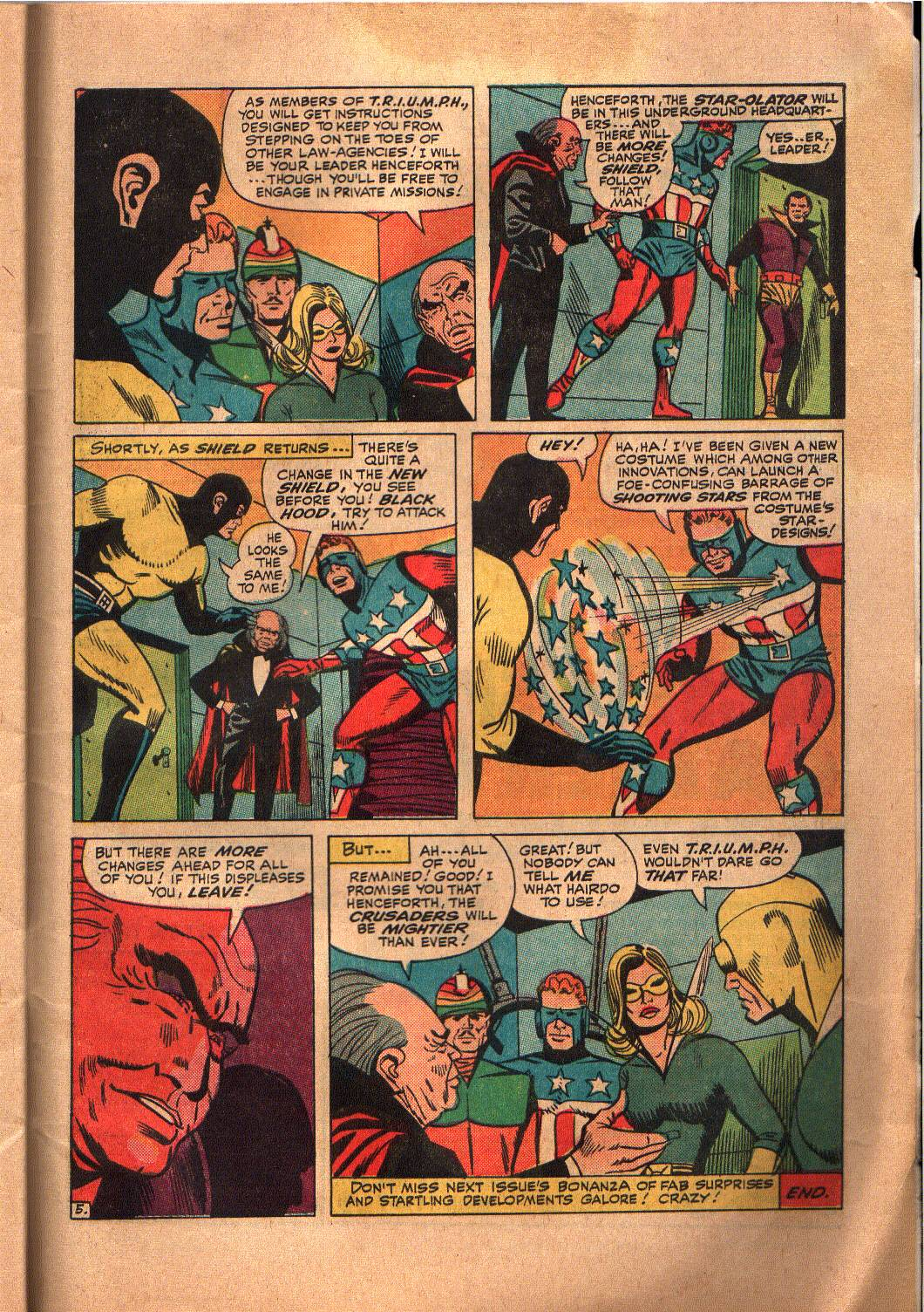 The Mighty Crusaders (1965) Issue #6 #6 - English 25