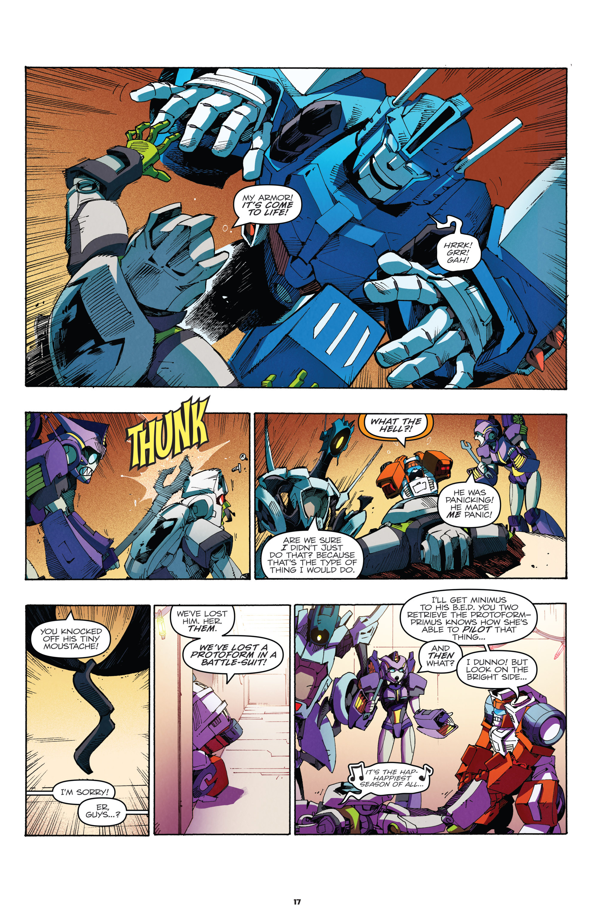 Read online Transformers: Holiday Special comic -  Issue # Full - 19